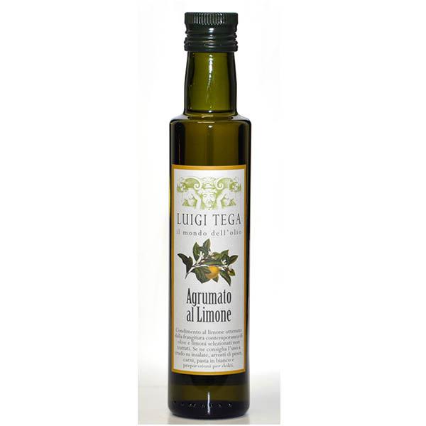 Luigi Tega - Olivenolje m/sitron 0,25l