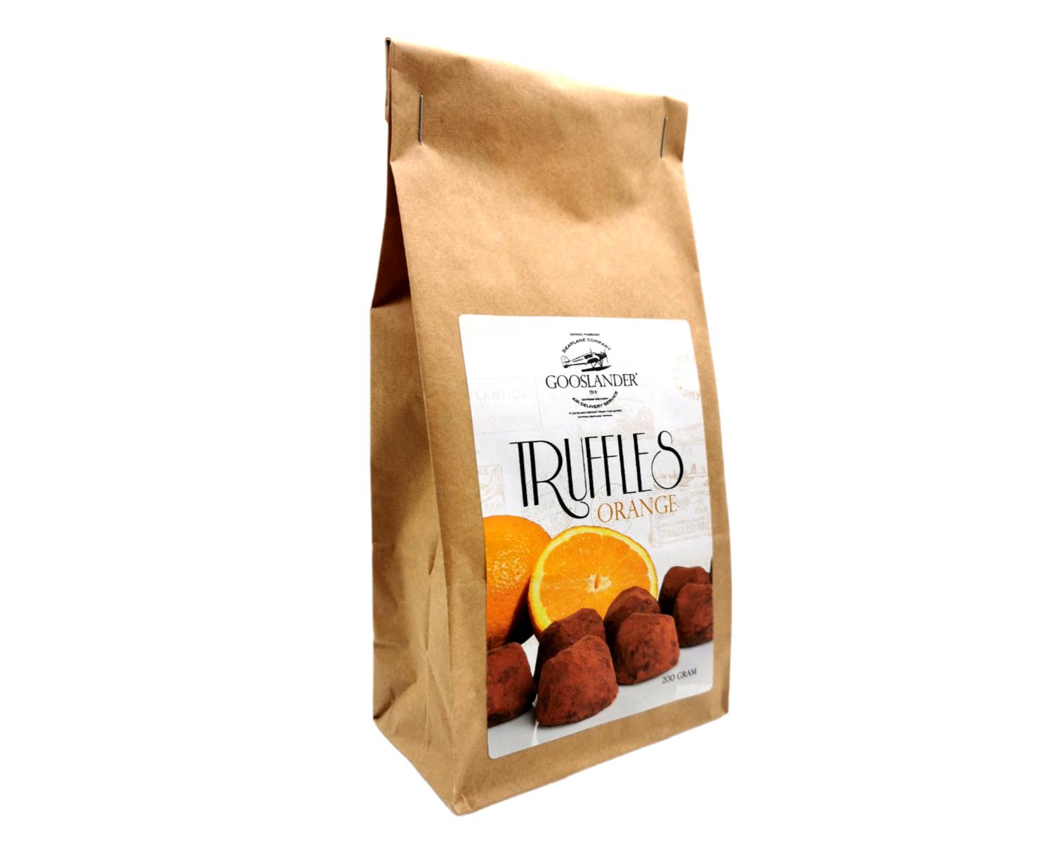 Chokladtryfflar Apelsin 200 g