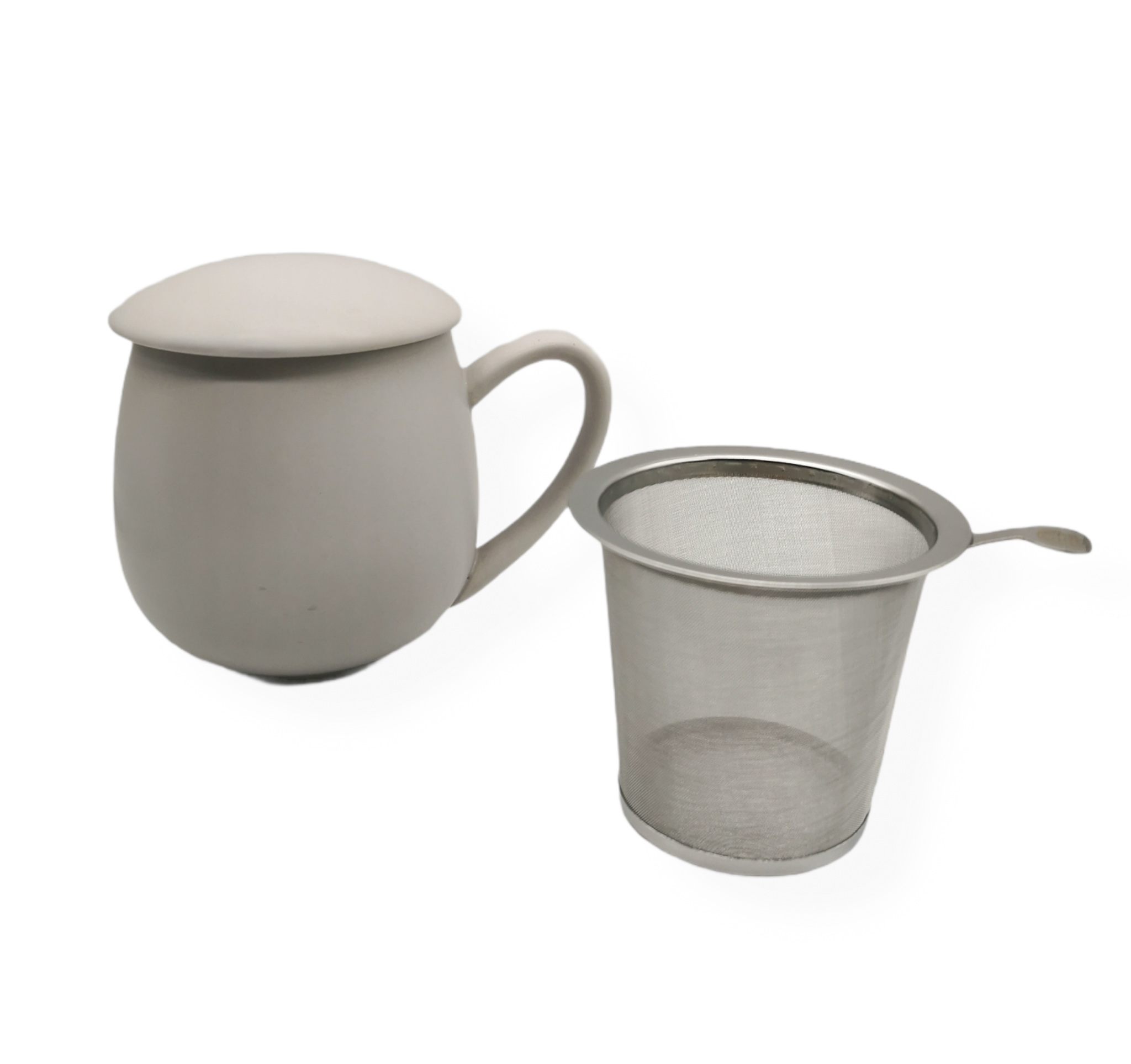 Herb Tea Mugg Grå