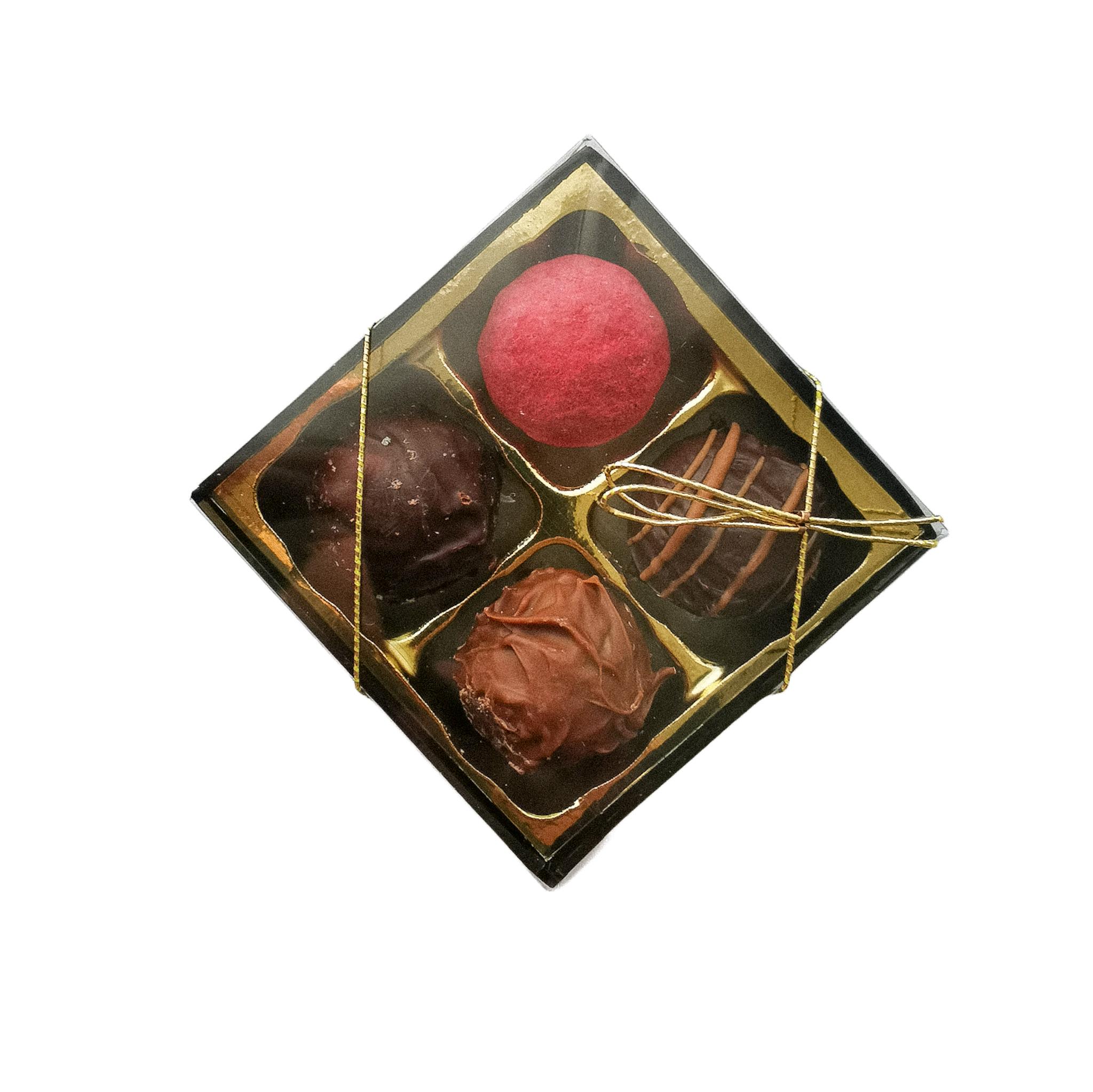 Chokladpraliner i ask 4