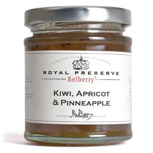 Marmelad Kiwi, Aprikos & Ananas