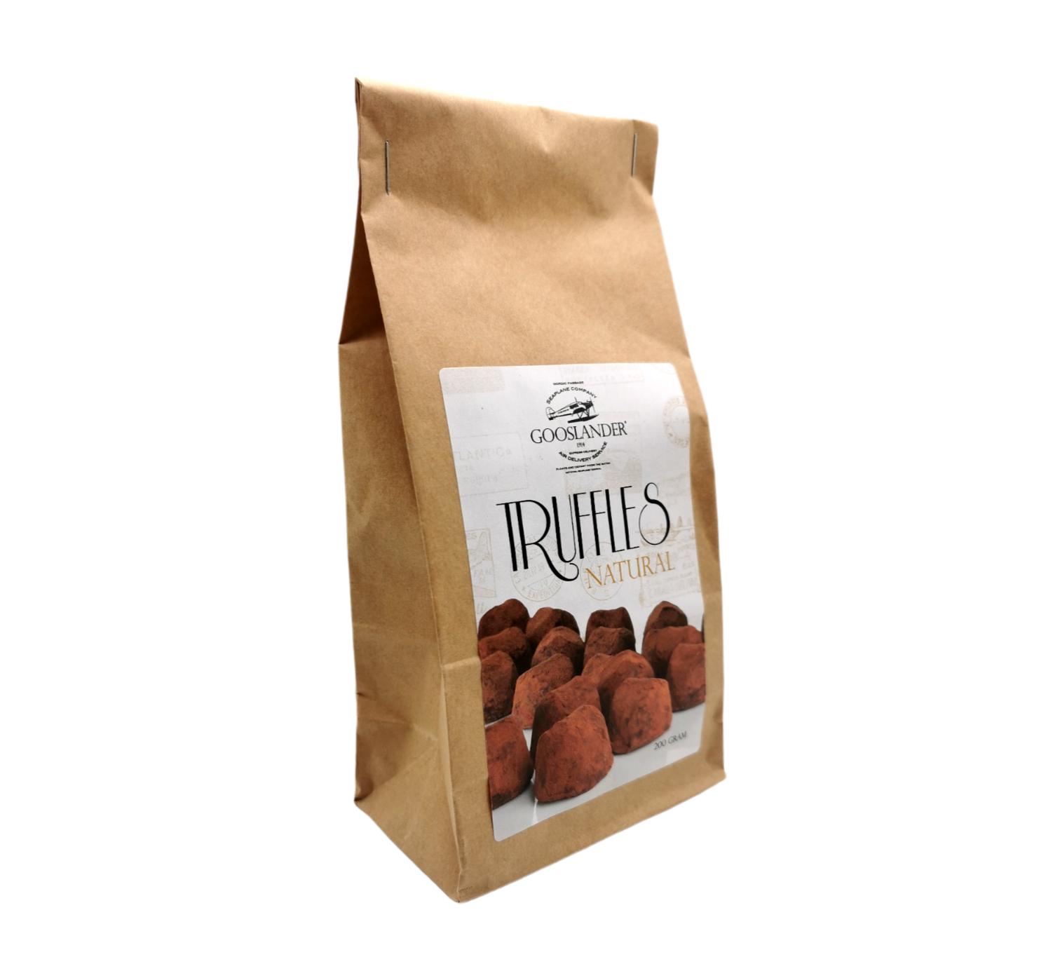 Chokladtryfflar Naturell 200 g