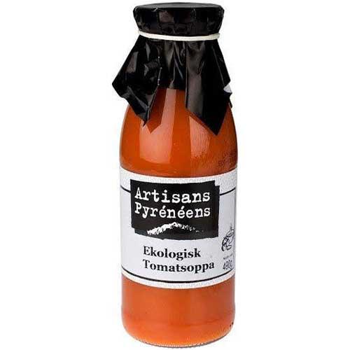 Tomatsoppa GLUTENFRI EKOLOGISK 490 g