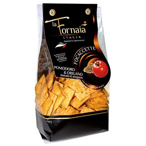 Focaccette Tomat/Oregano 150g