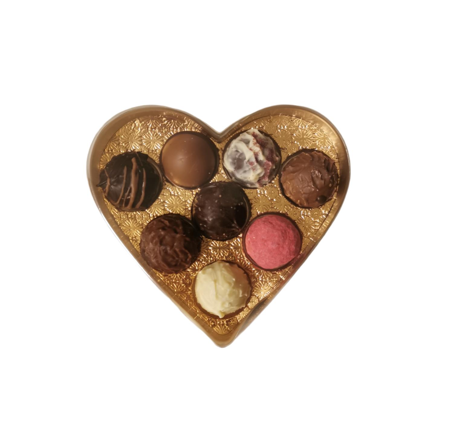 Chokladpraliner Hjärta
