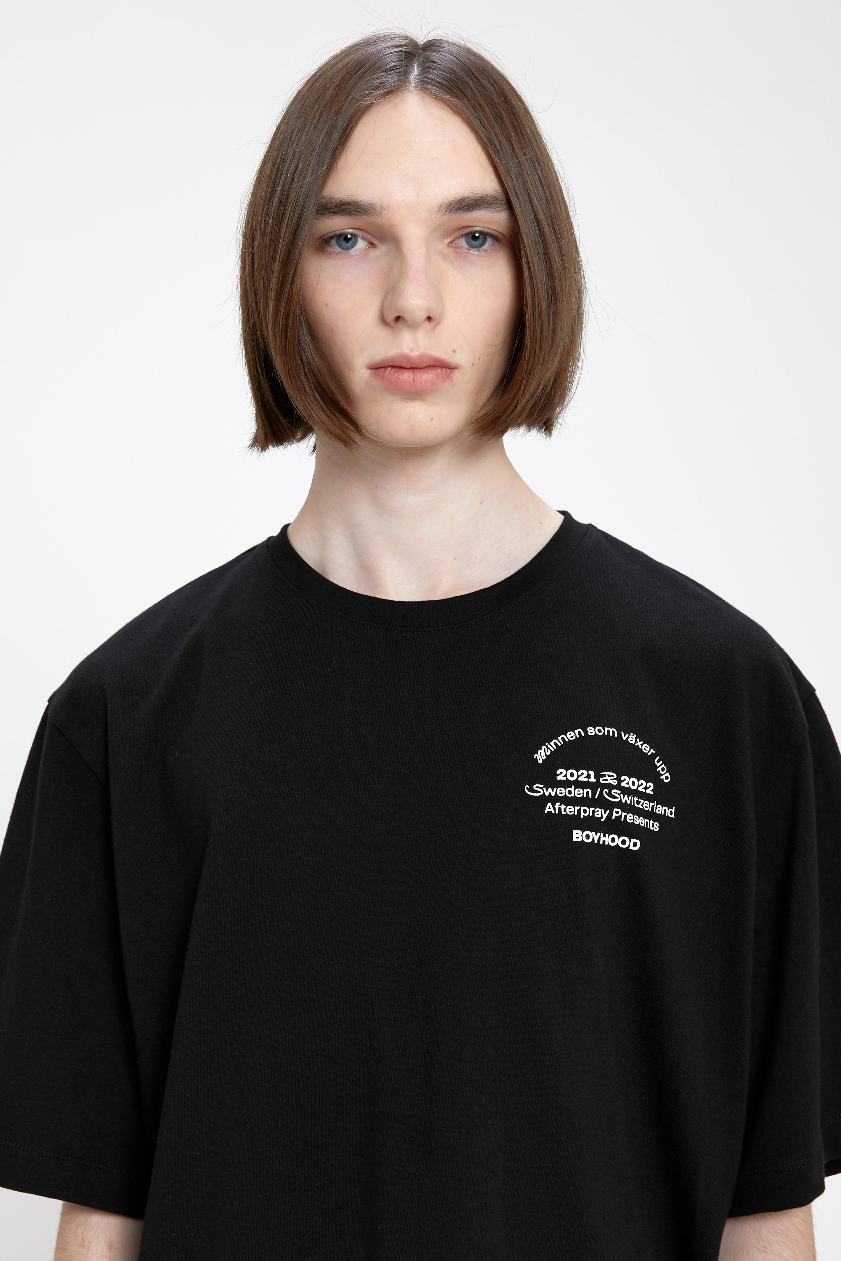 ANNA EDITION PRINT T-SHIRT BLACK