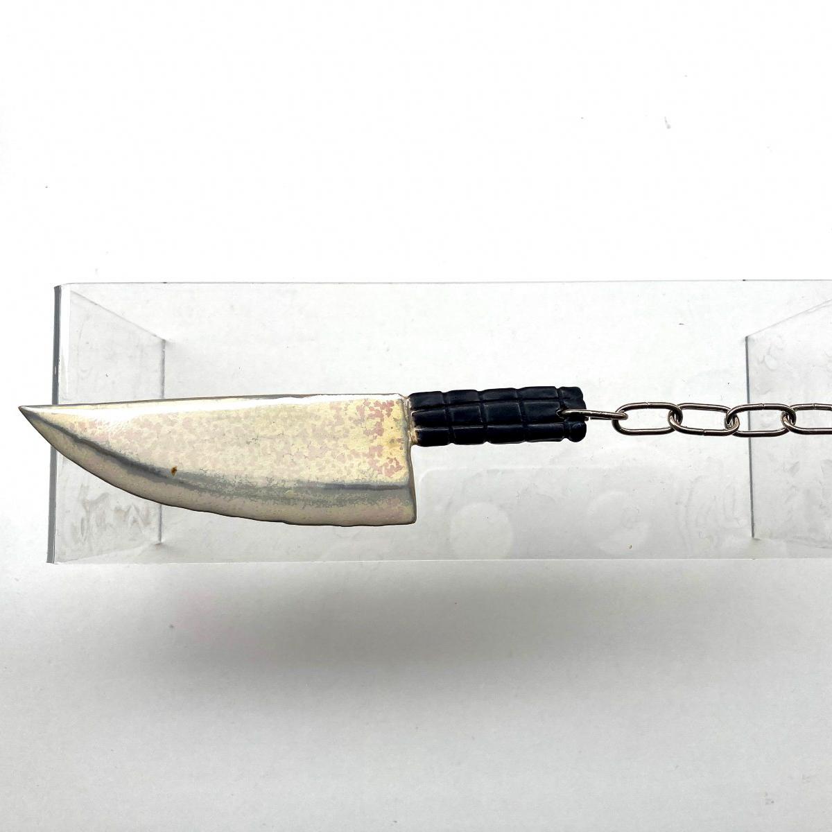 Kniv - enkel pärlemo/svart