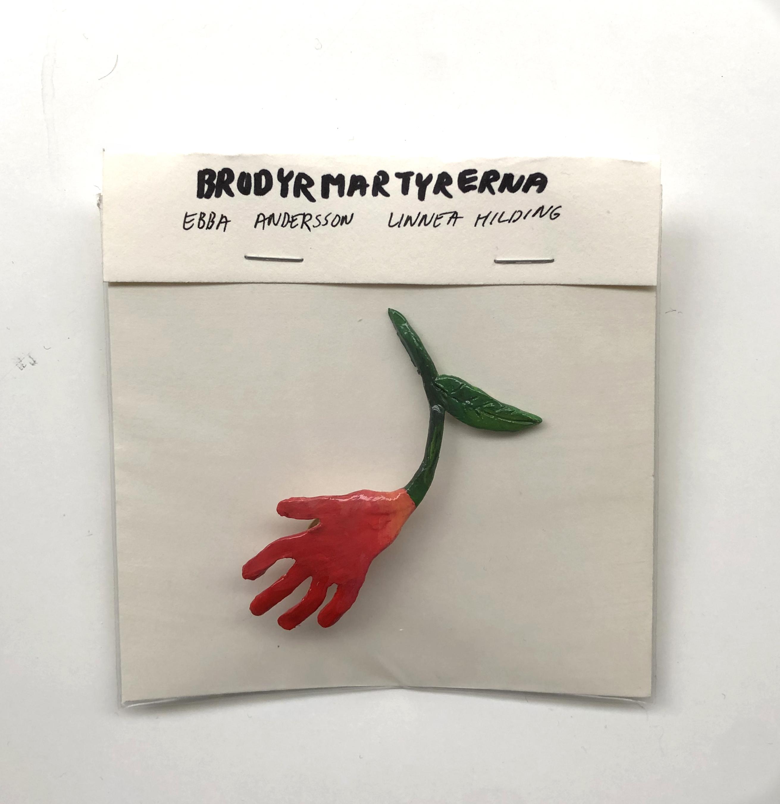 Brosch Handblomma