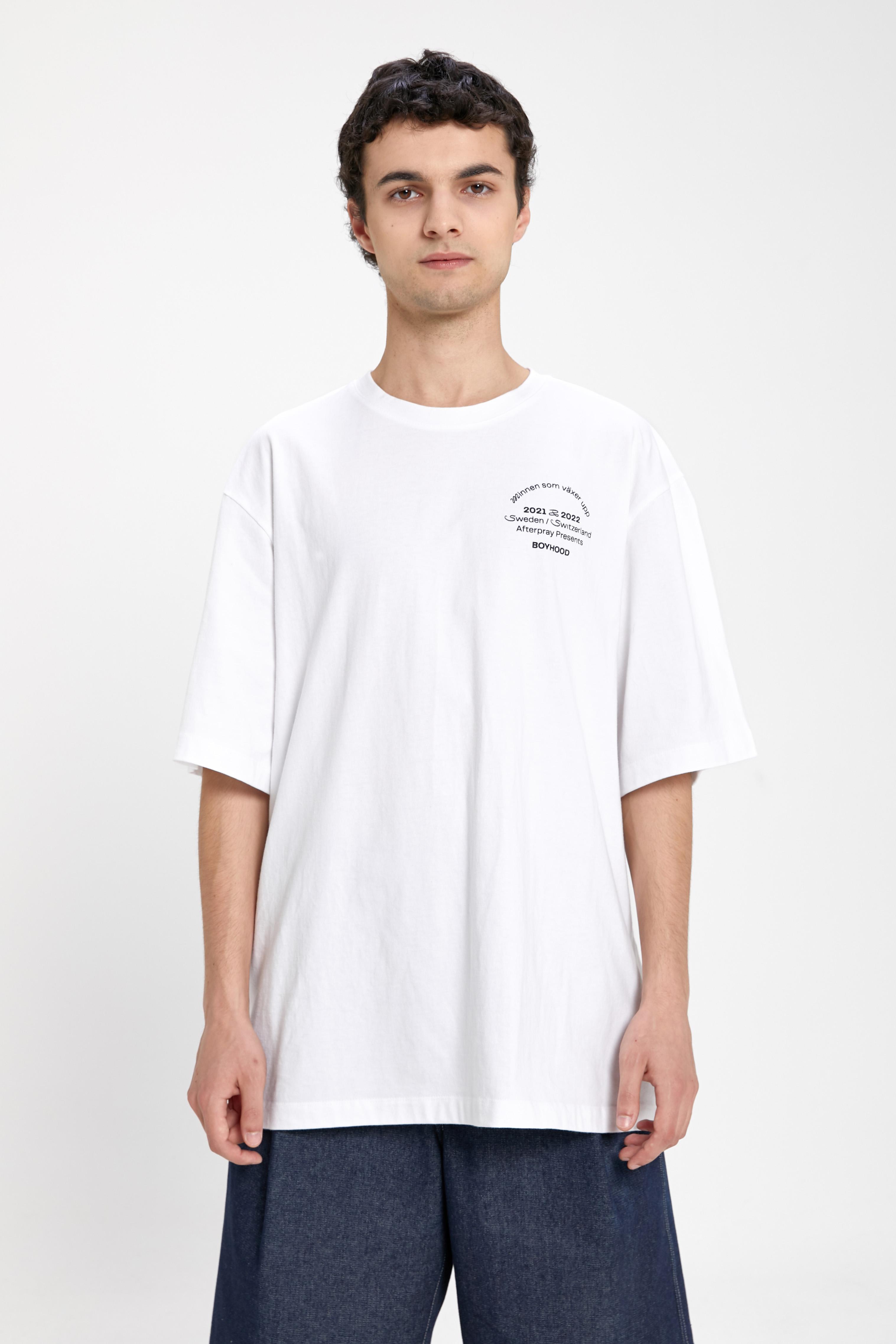 ANNA EDITION PRINT T-SHIRT WHITE