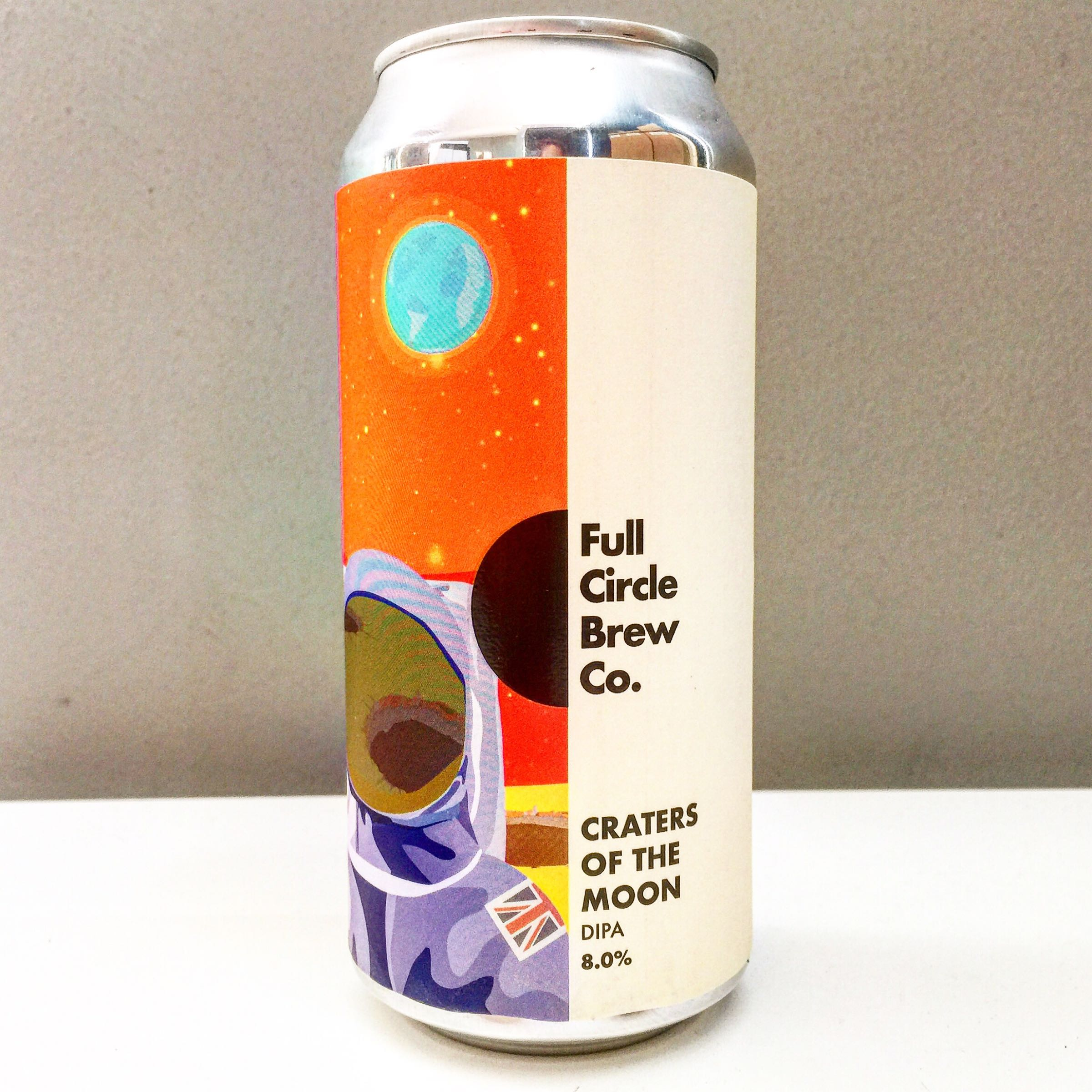 Full Circle Brew Co. 'Craters of the Moon' DIPA 440ml 8.0% ABV