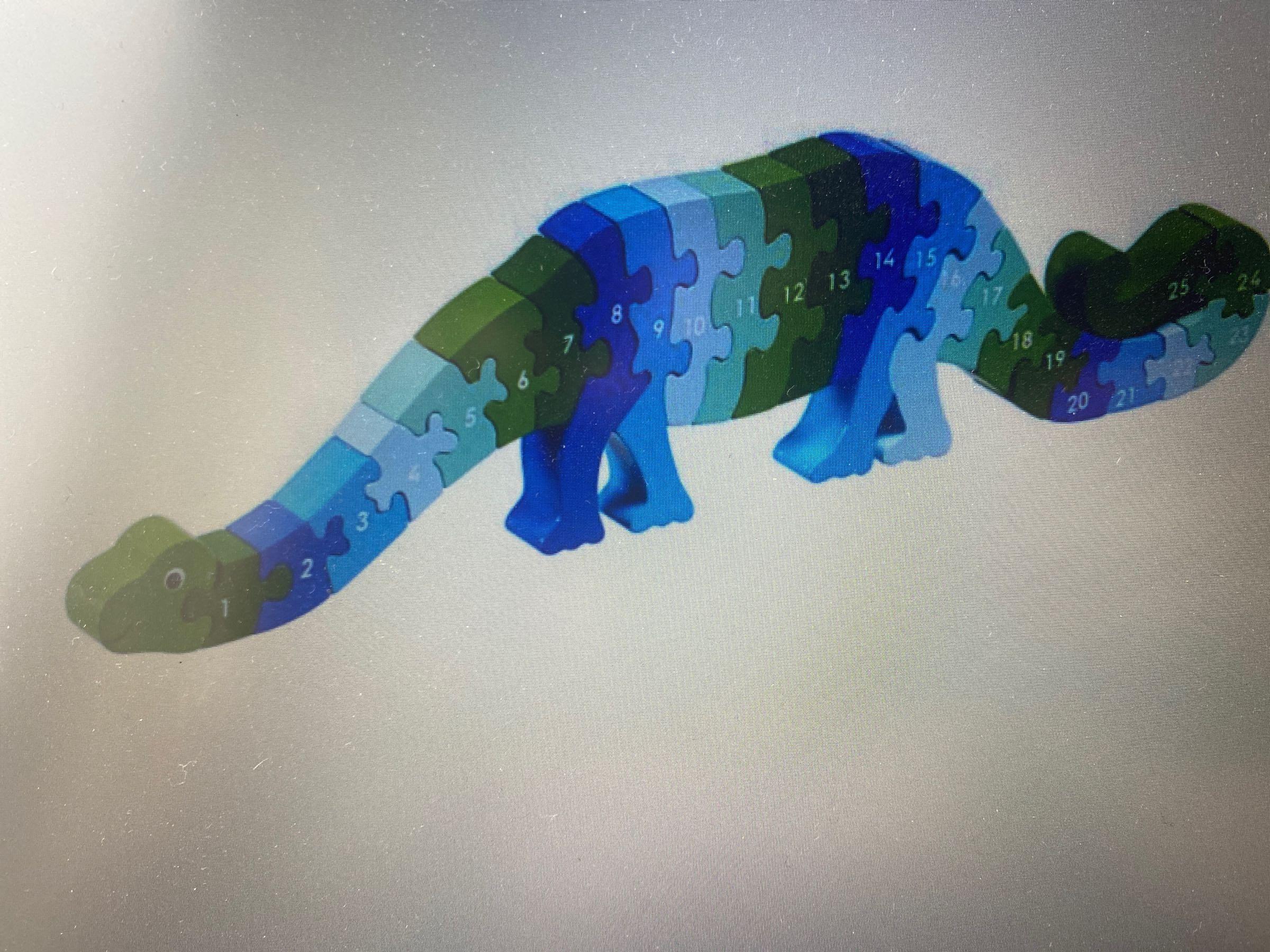 Lanka Kade - 1-25 Jigsaw - dizzied the dinosaur