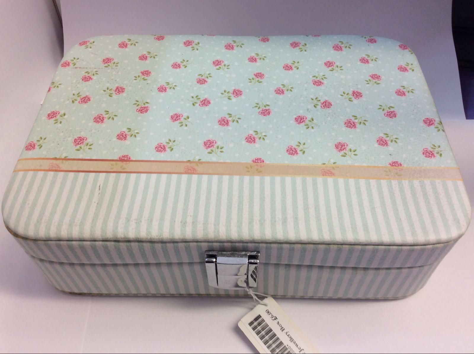 Ditsy Rose Jewellery Box