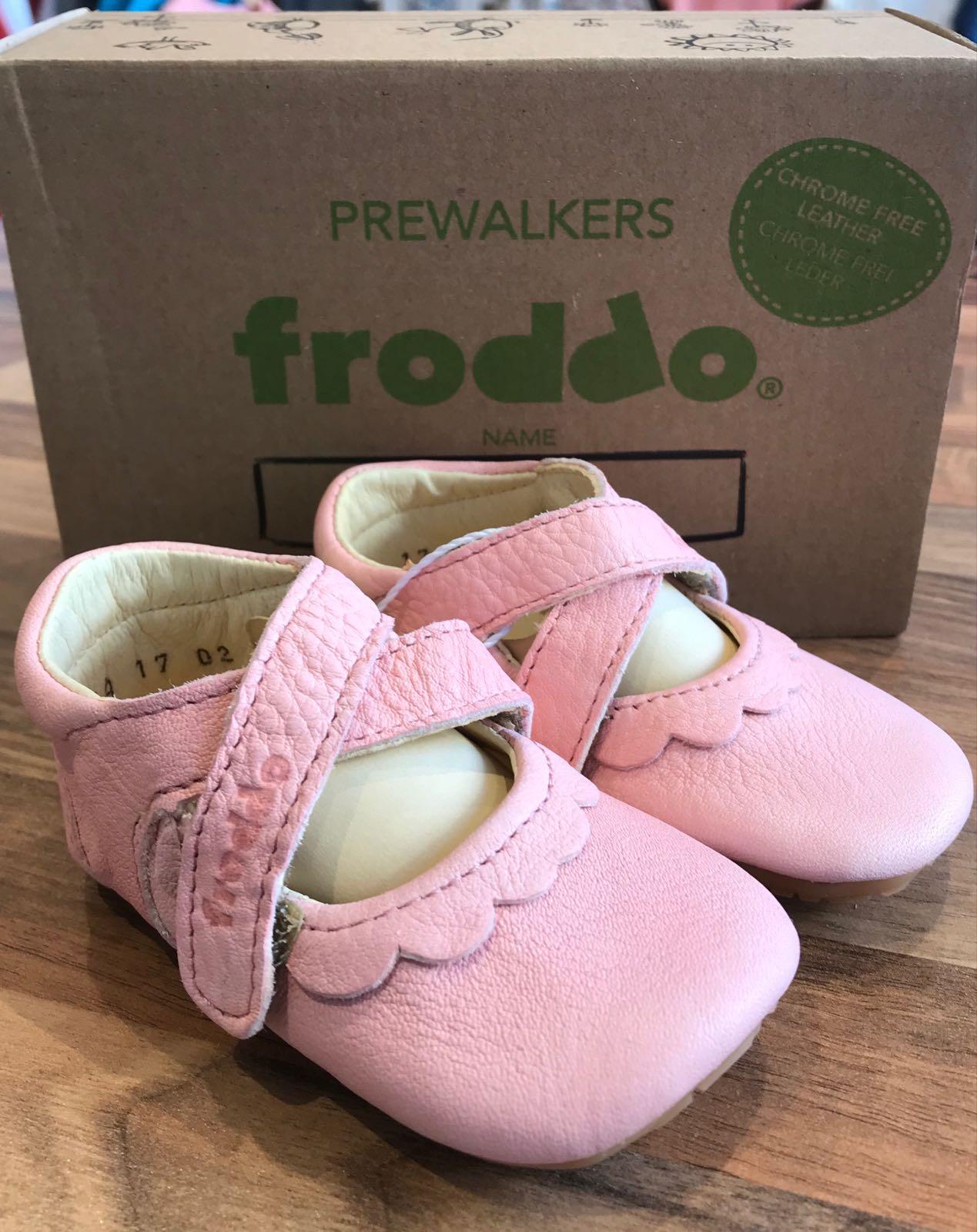 Froddo Pre-Walker, Ballerina, Pink