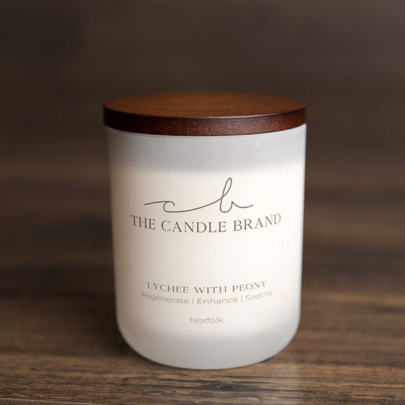 Lychee and Peony Scented Candle - 55 Hours