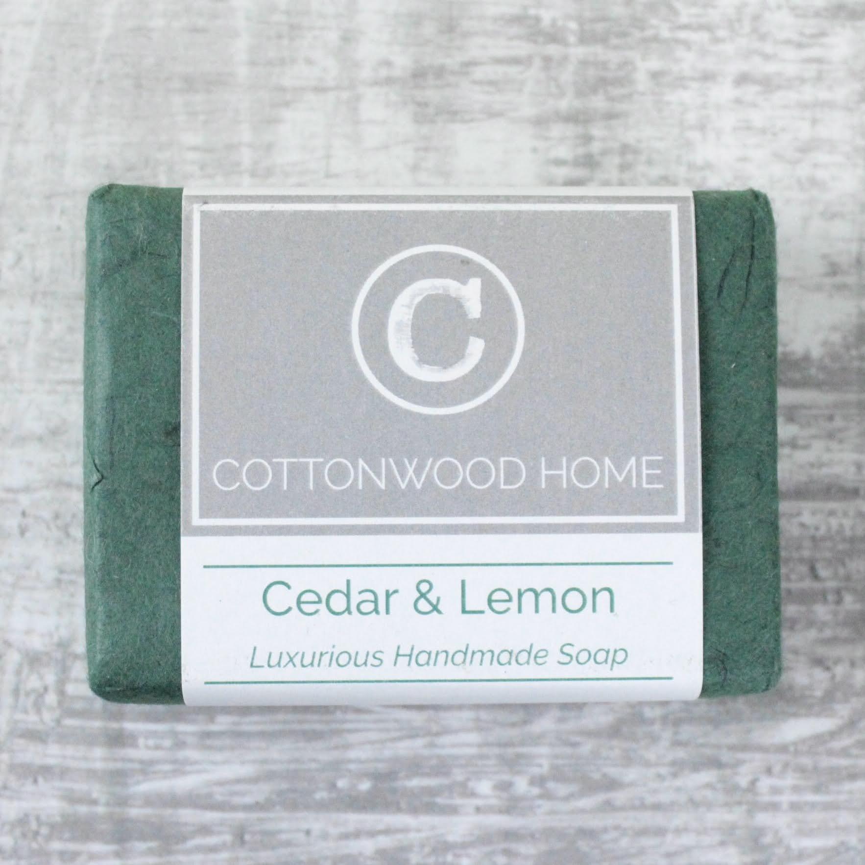 Cottonwood Soap - Cedar & Lemon