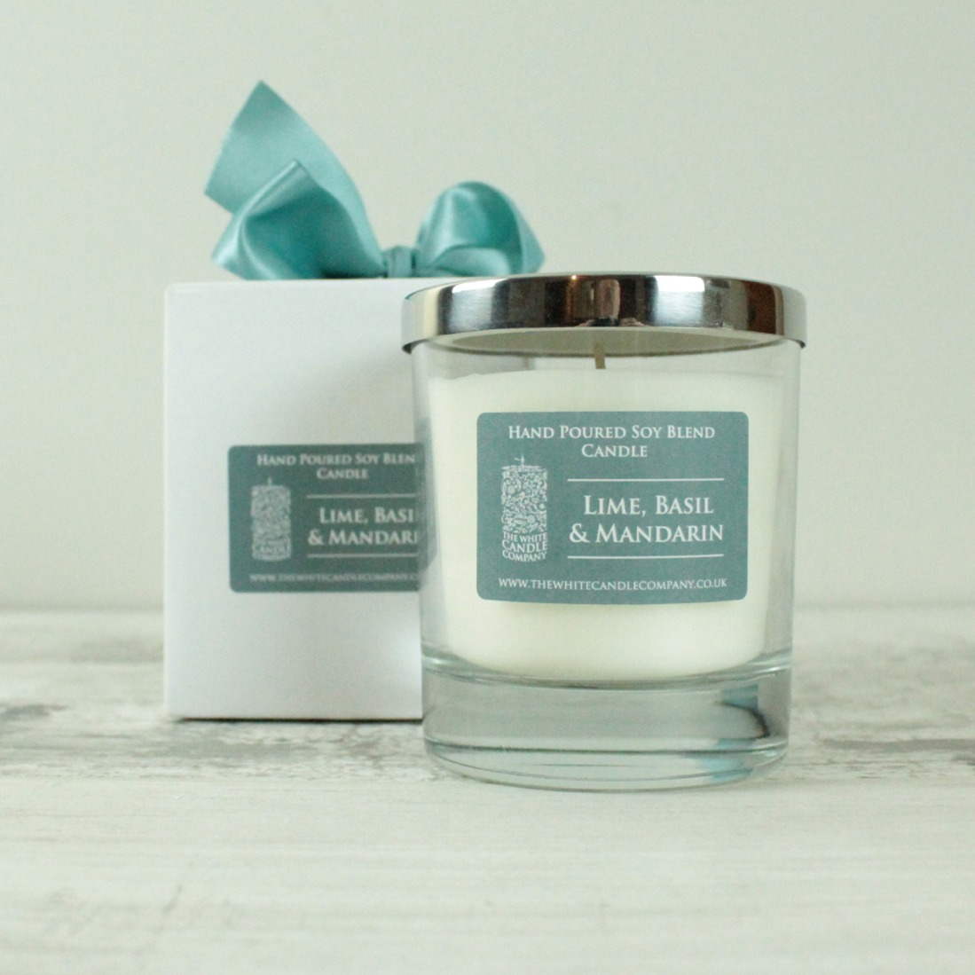 Lime, Basil & Mandarin Scented Candle - 50hrs
