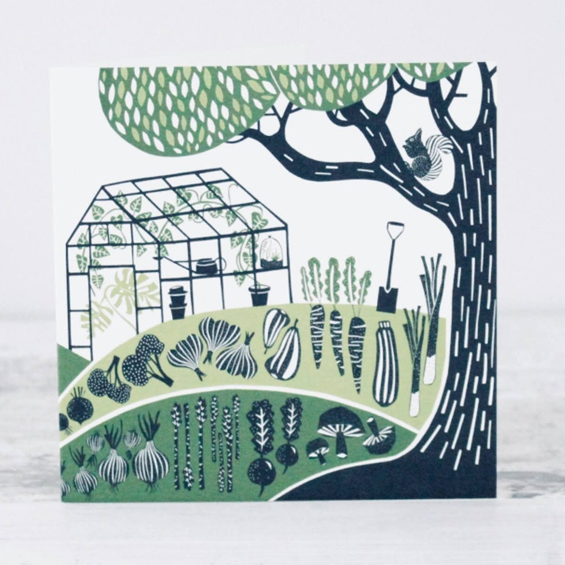 Allotment Card by Folded Forest