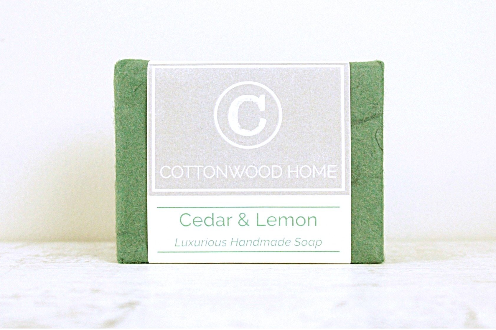 Cottonwood Soap - Cedar & Lemon