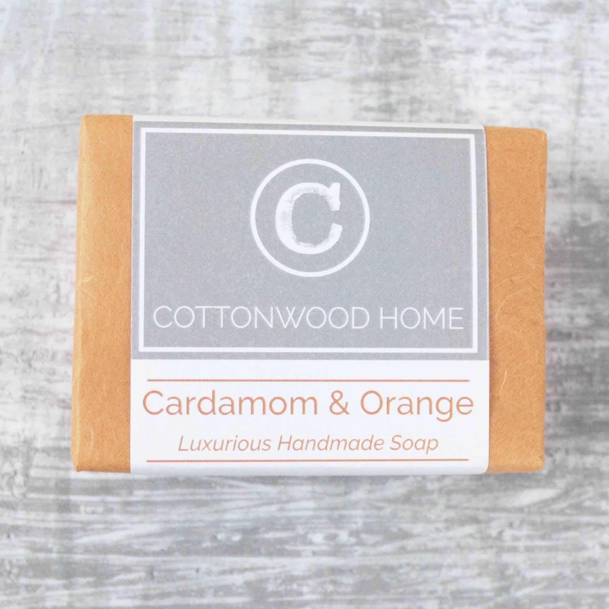 Cottonwood Soap - Cardamom & Orange