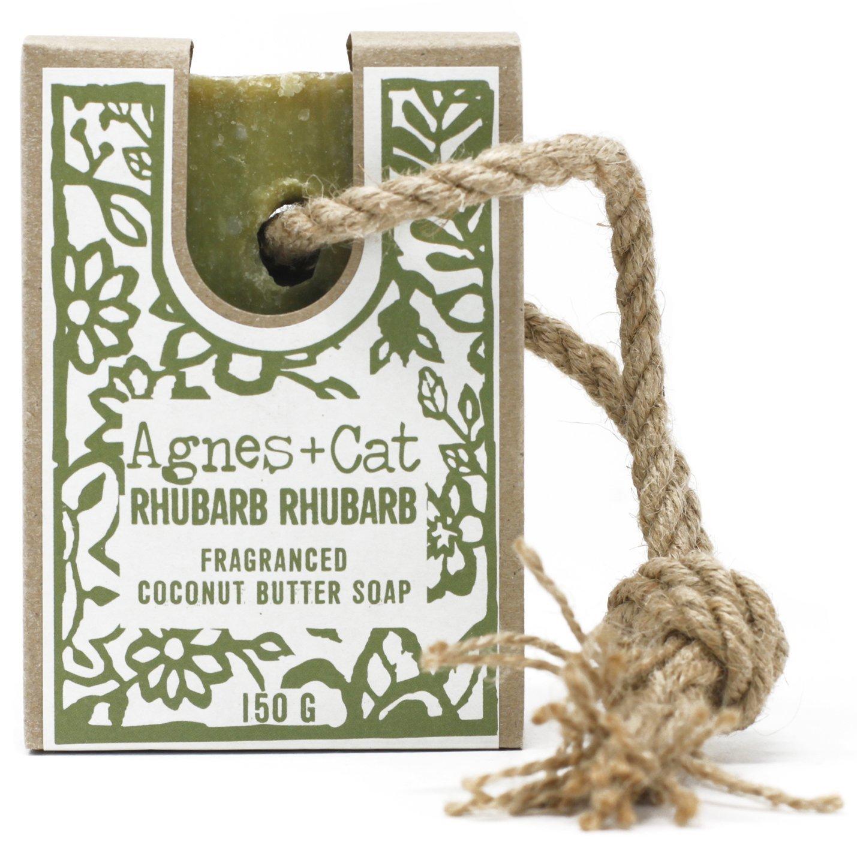 Rhubarb Rhubarb Soap on a Rope