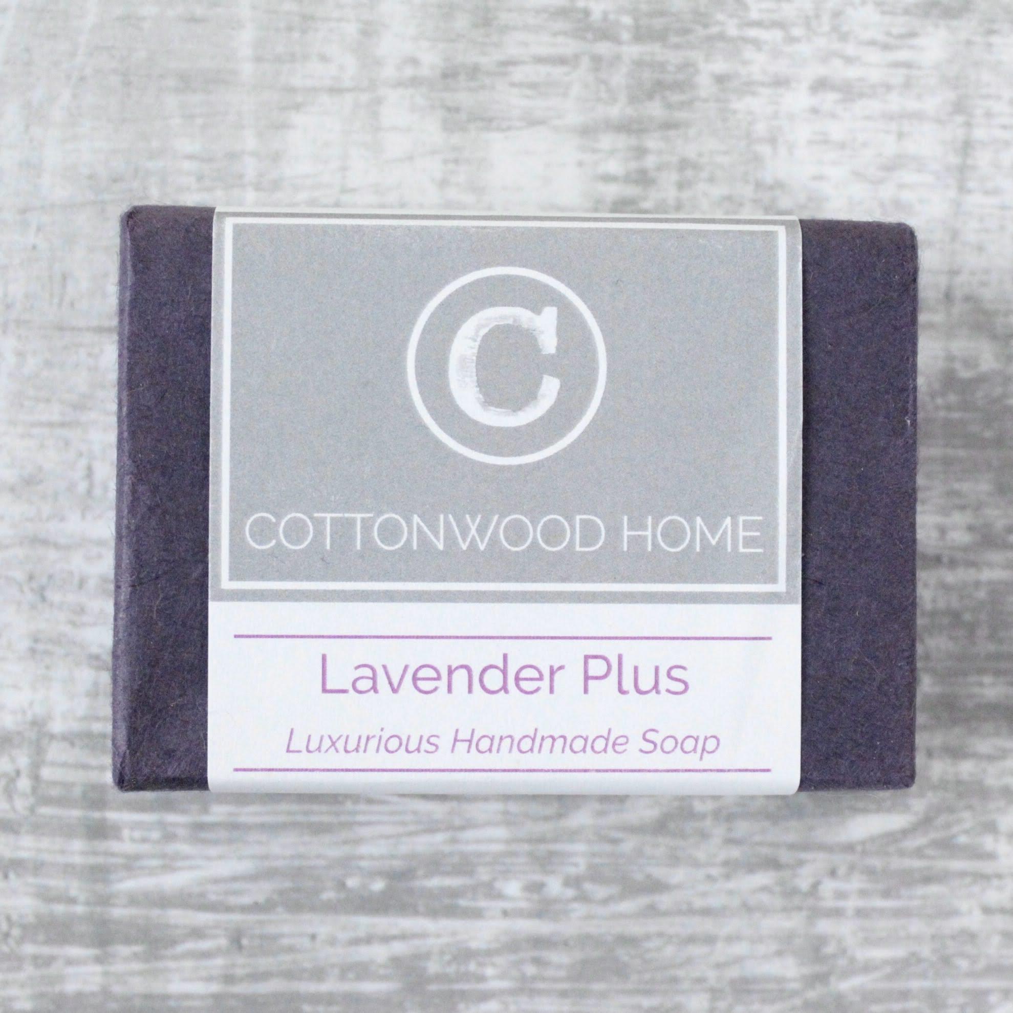 Cottonwood Soap - Lavender Plus