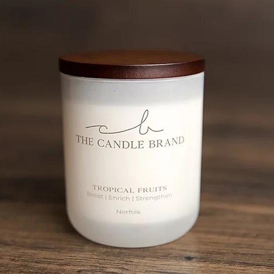 Tropical Fruits Scented Candle - 55hrs