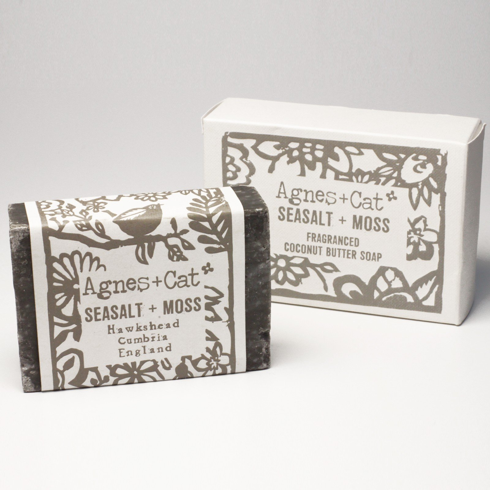 Sea Salt and Moss Soap by Agnes & Cat