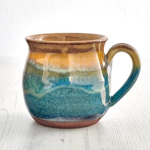 Sand Bay Mug by Rupert Blamire