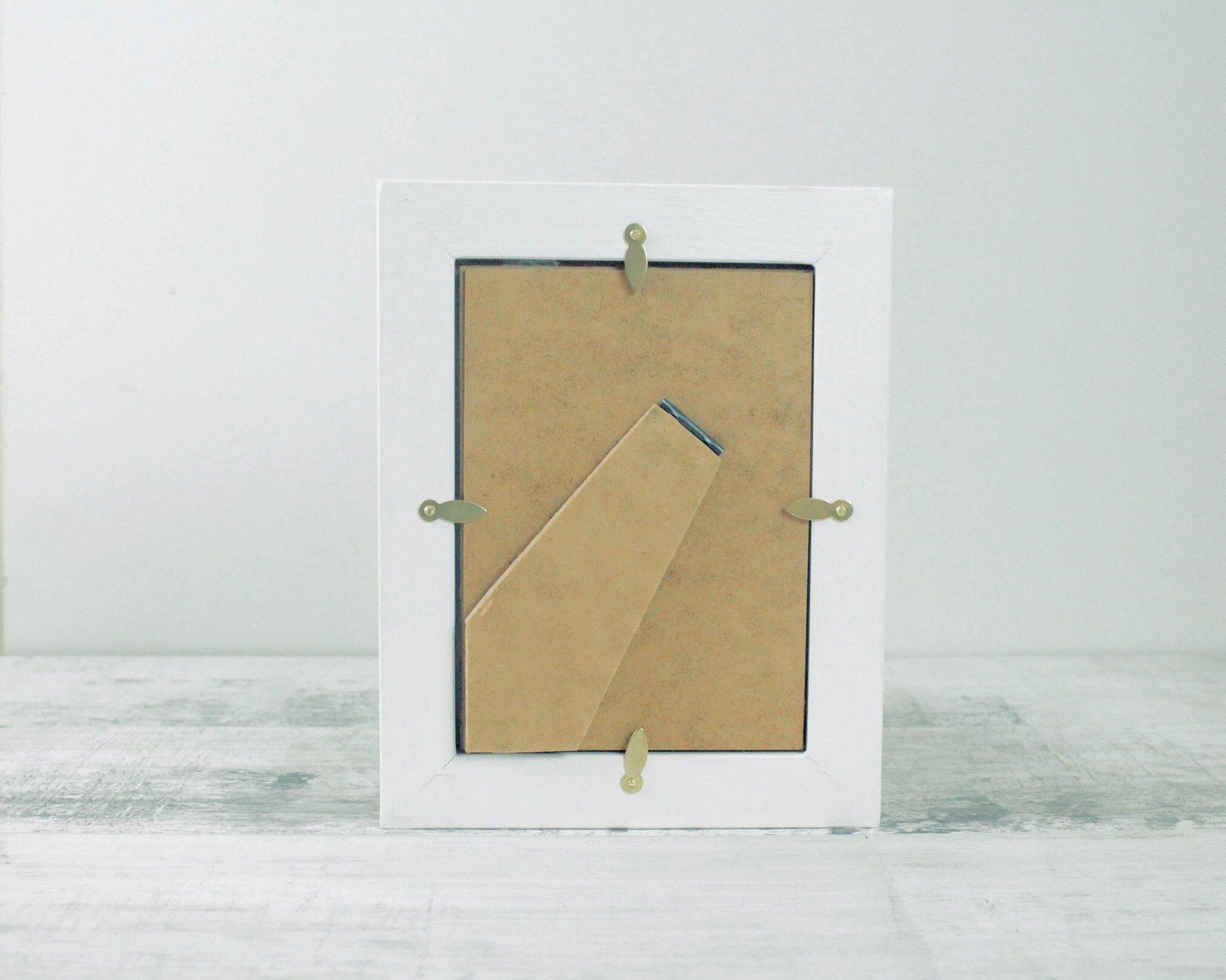 Aqua Surf 5 x 7 Fabric Picture Frame