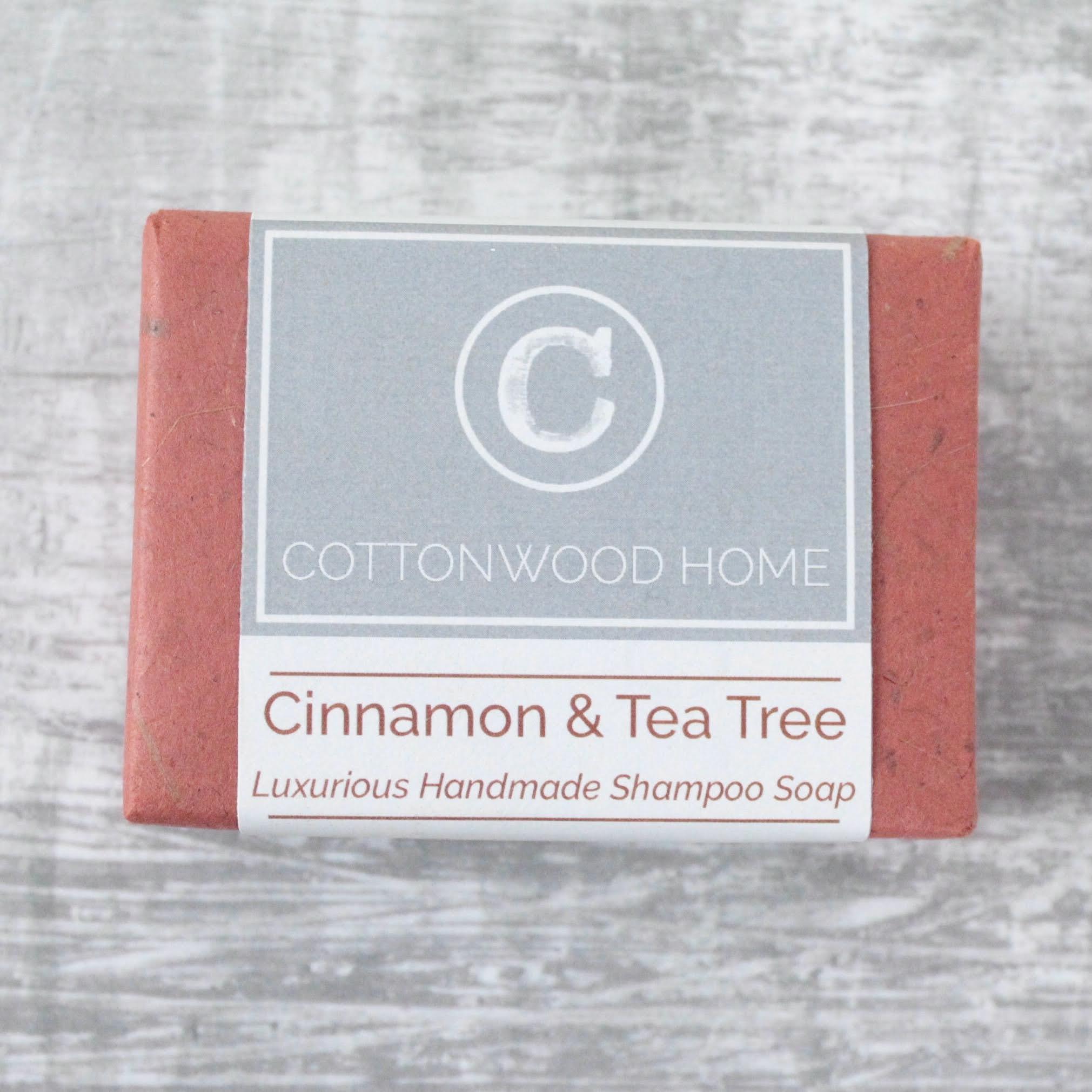 Cottonwood Shampoo - Cinnamon & Tea Tree