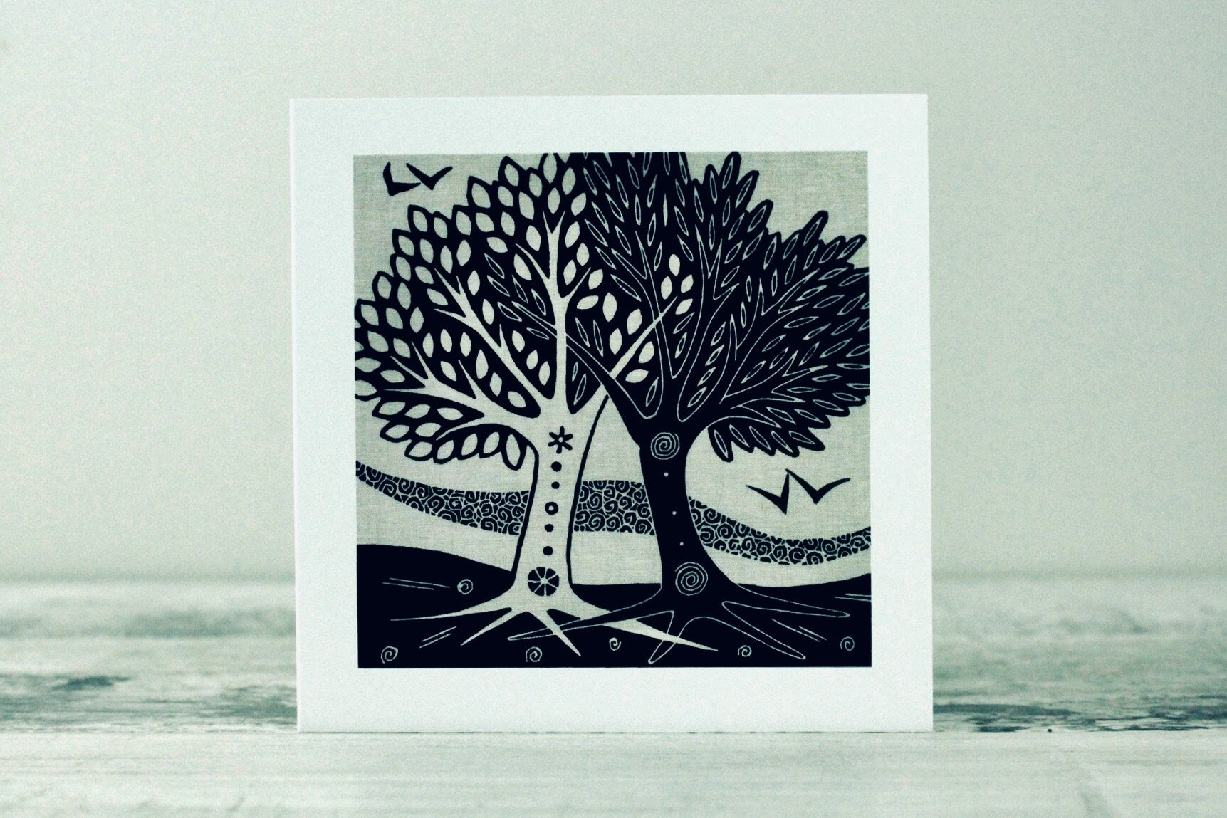 Marriage Trees Card by Algan Arts