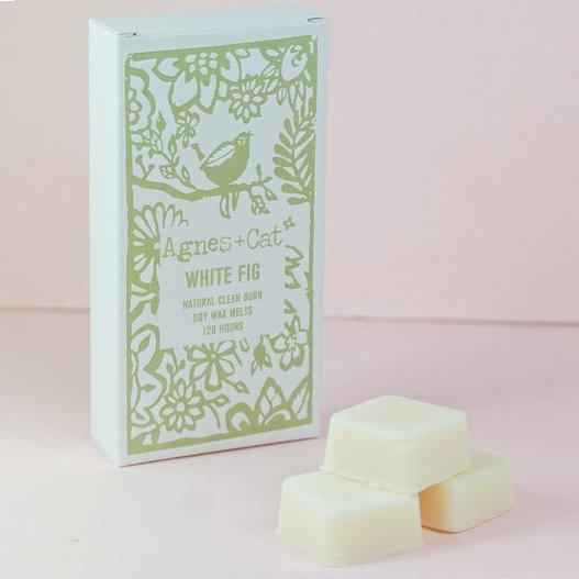 White Fig Wax Melts by Agnes & Cat