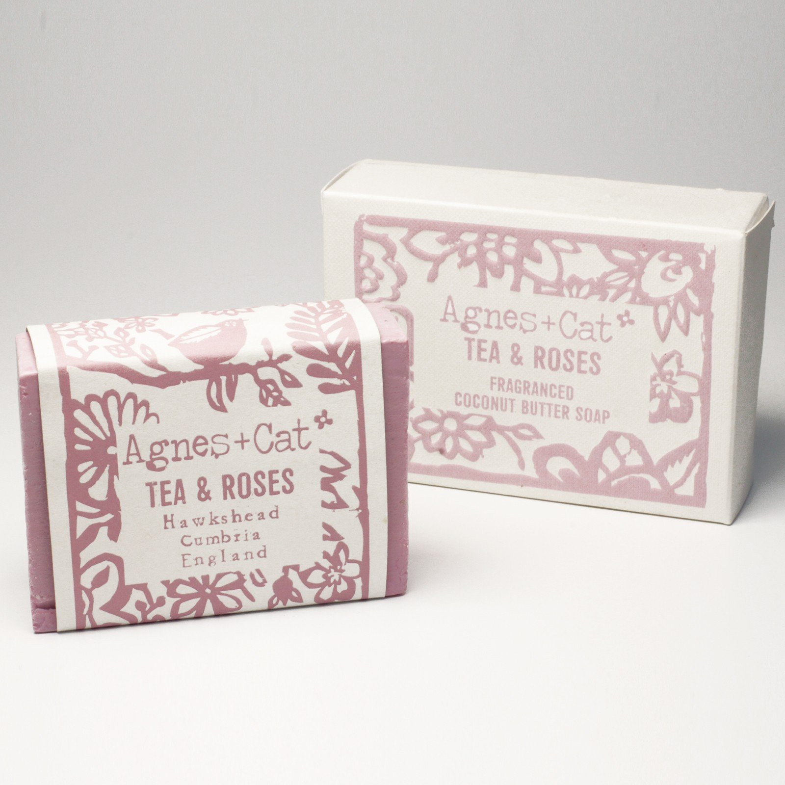 Tea & Roses Soap by Agnes & Cat