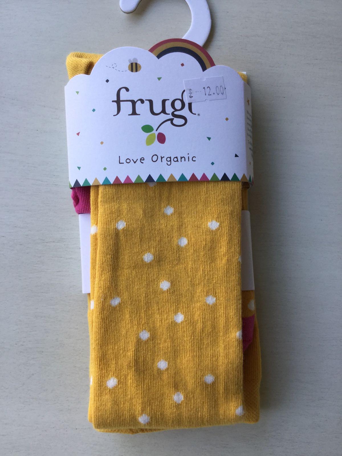 Frugi - Bumble bee spot - tights