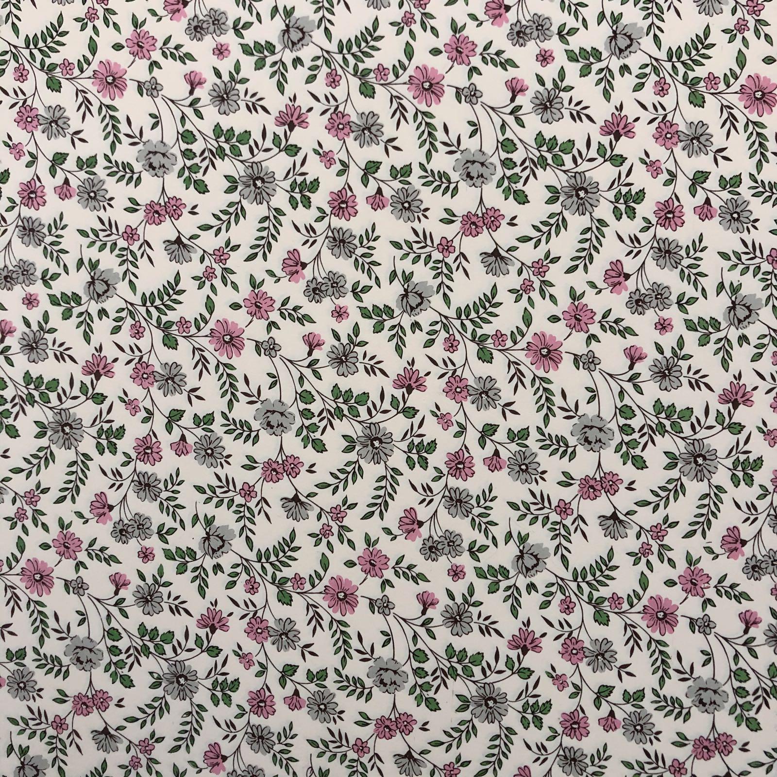 Italiensk Papir / Pink & Grey
