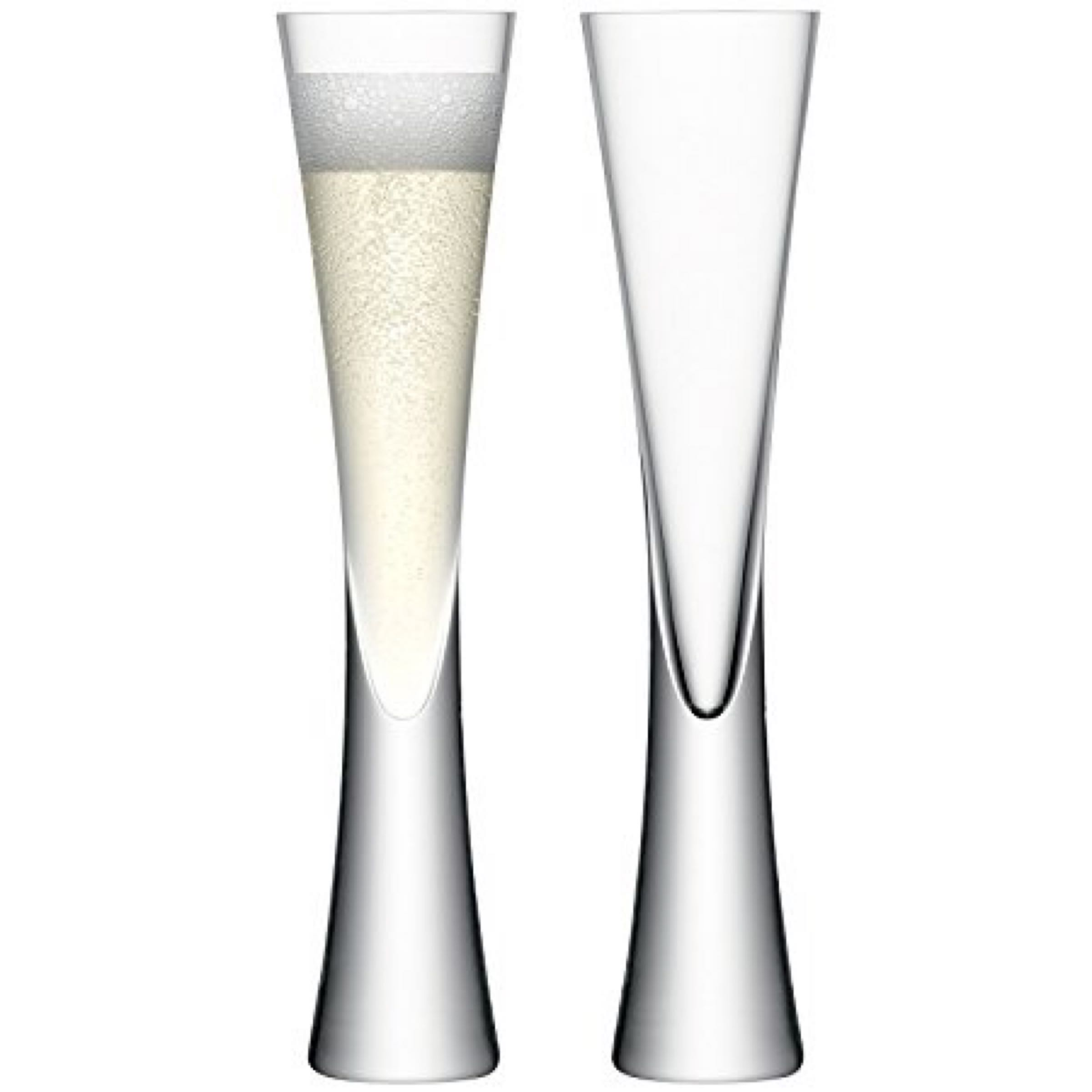 LSA - Moyà Champagne Flutes (set of 2)