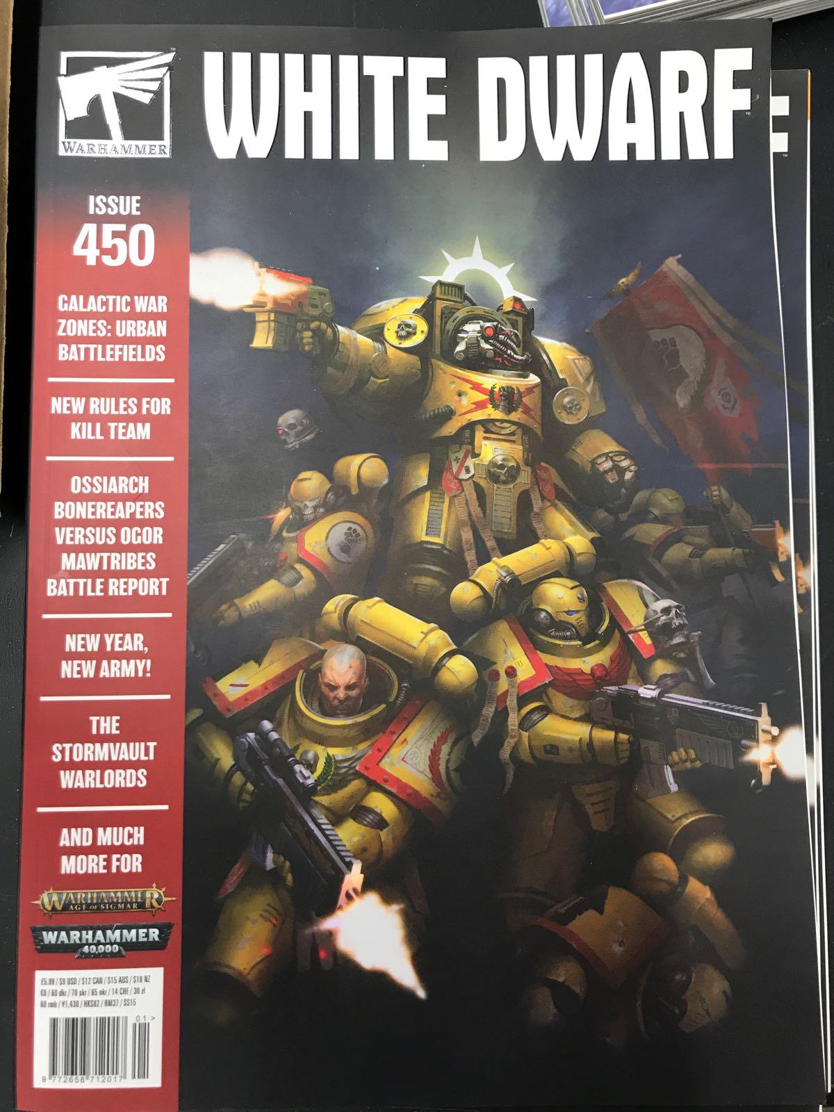 WHITE DWARF: ISSUE 450