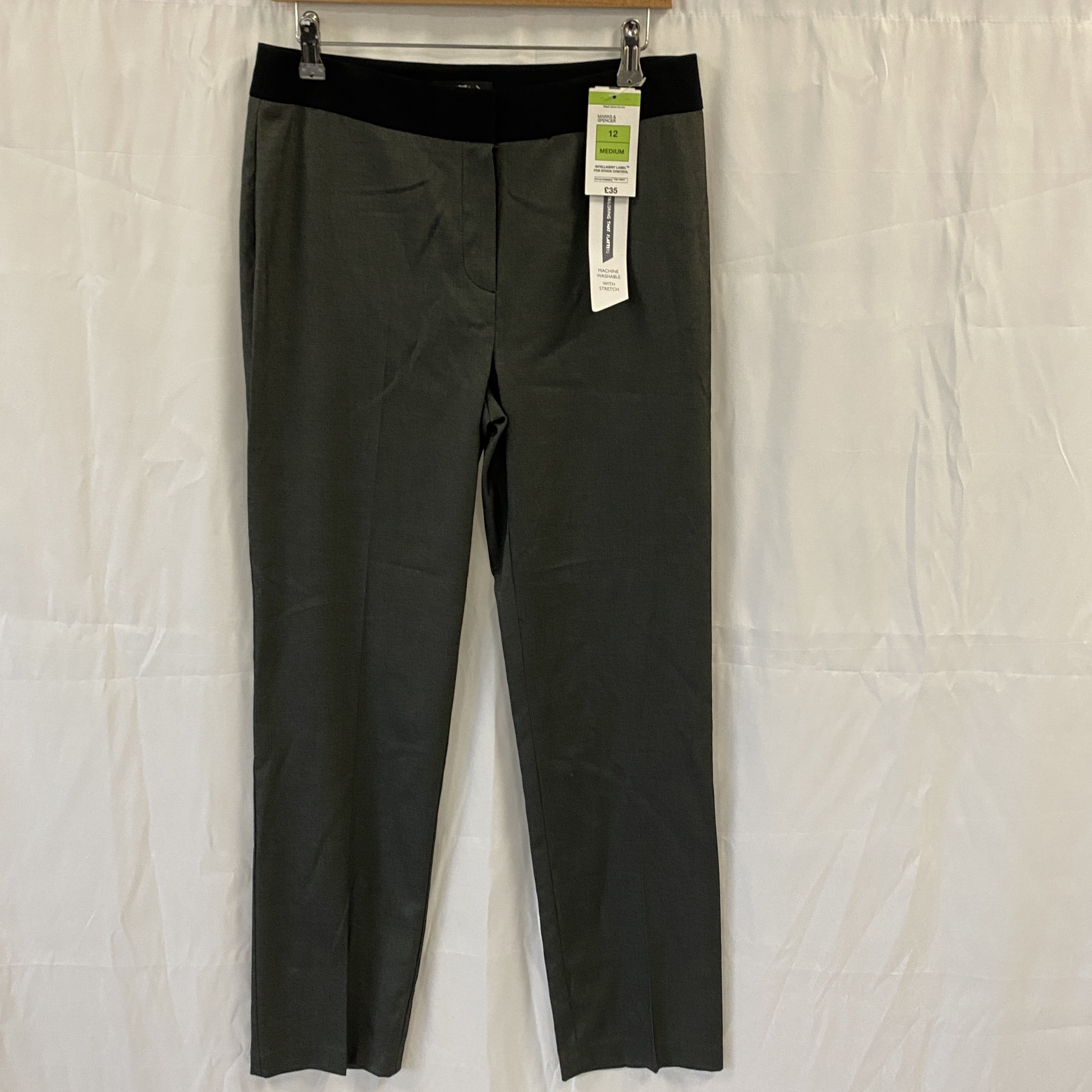 Brand New Grey Trousers - Size 12