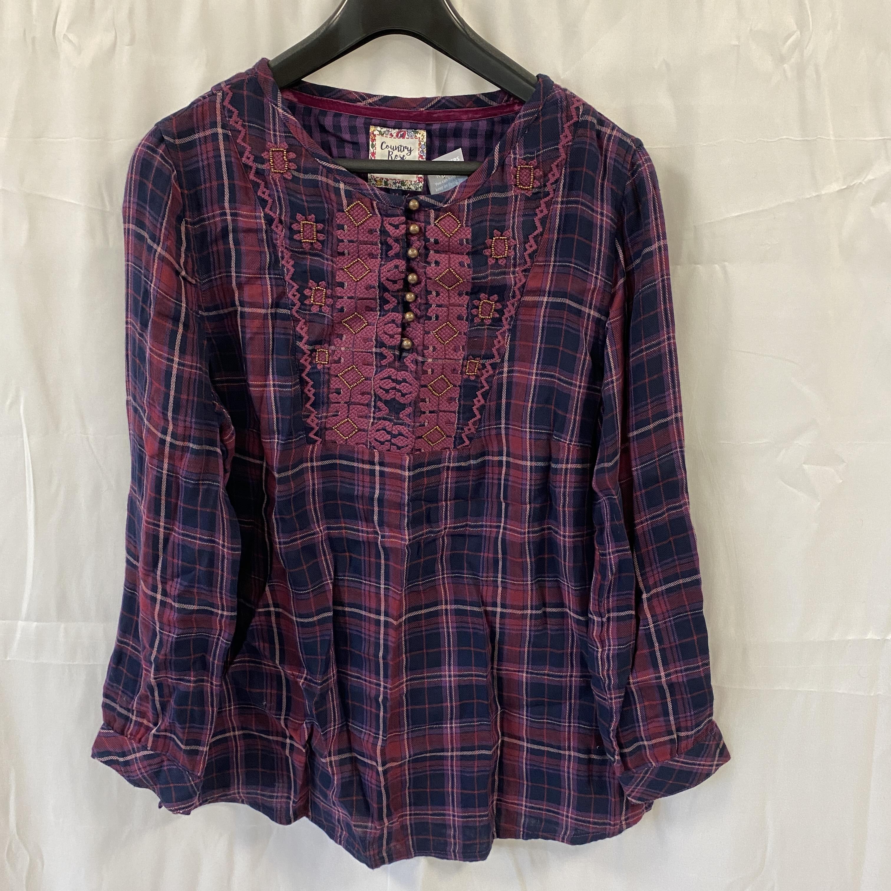 Country Rose Check Shirt