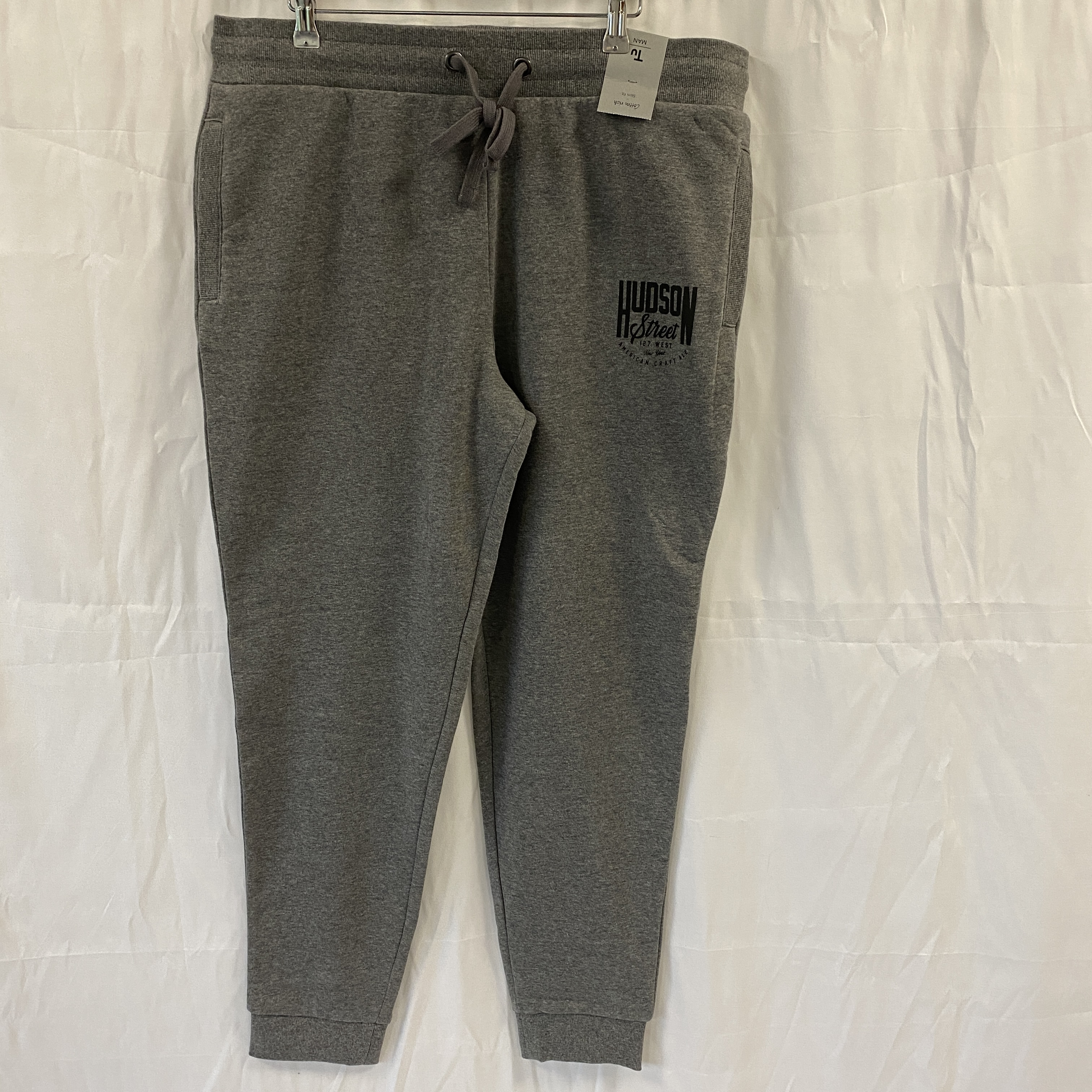 Brand New TU Grey Jogging Bottoms - Size L