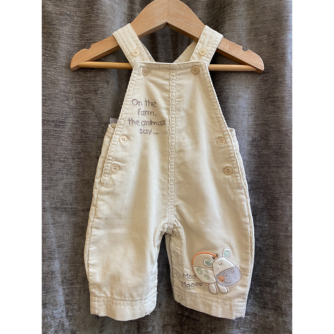 Baby Dungarees - Size 0-3 months