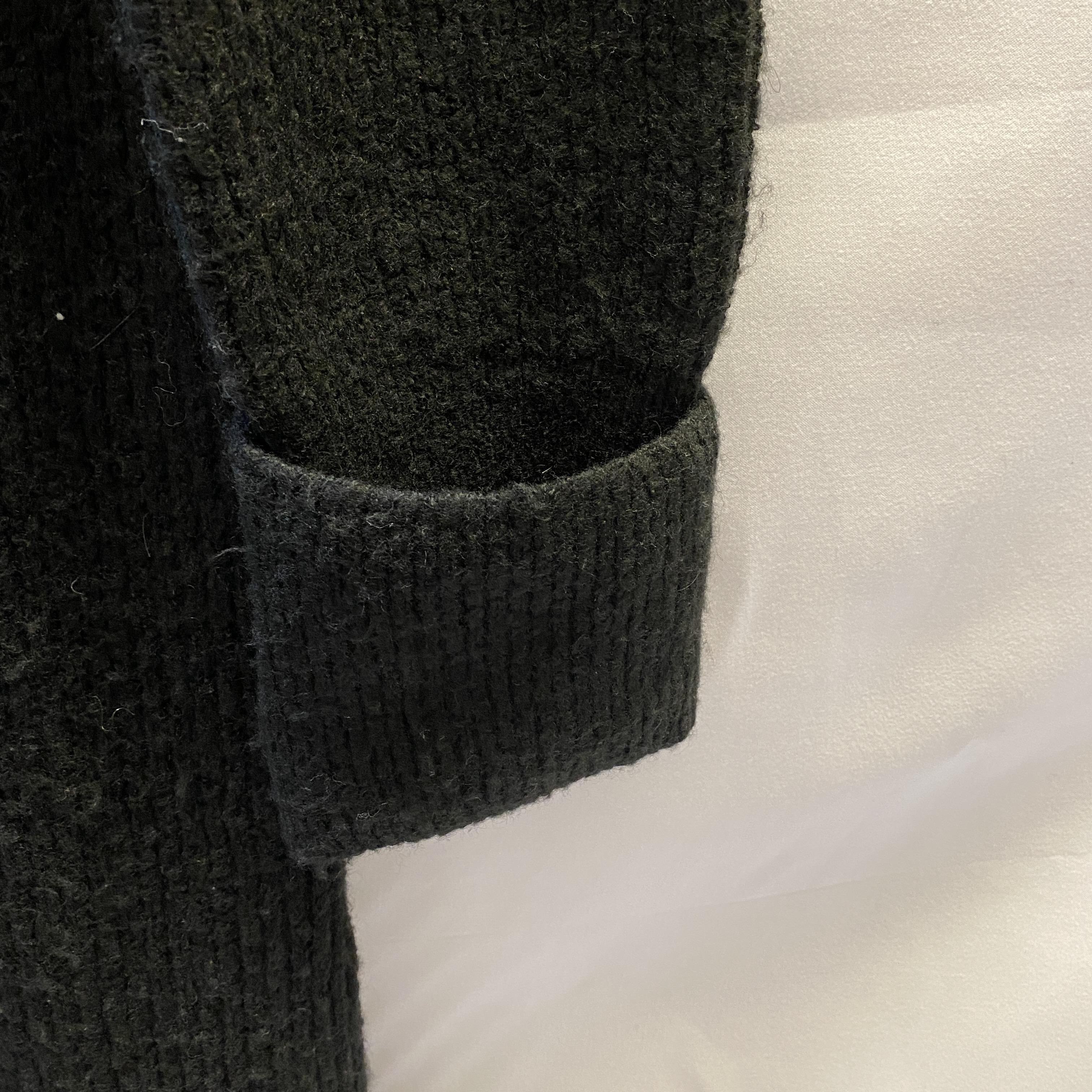 ASOS Size 12 Black Knit Jumper Dress