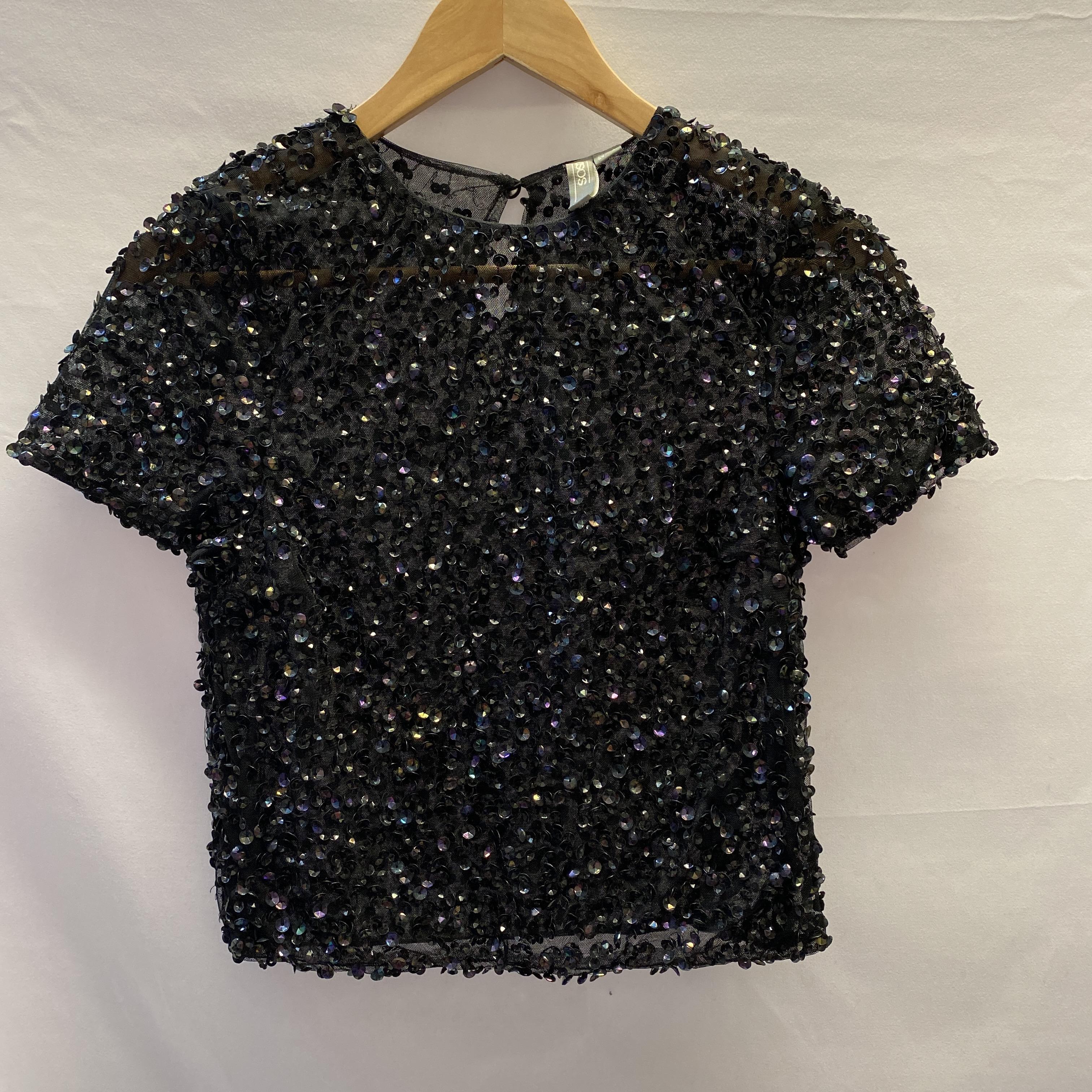 ASOS Size 8 Sequin Top