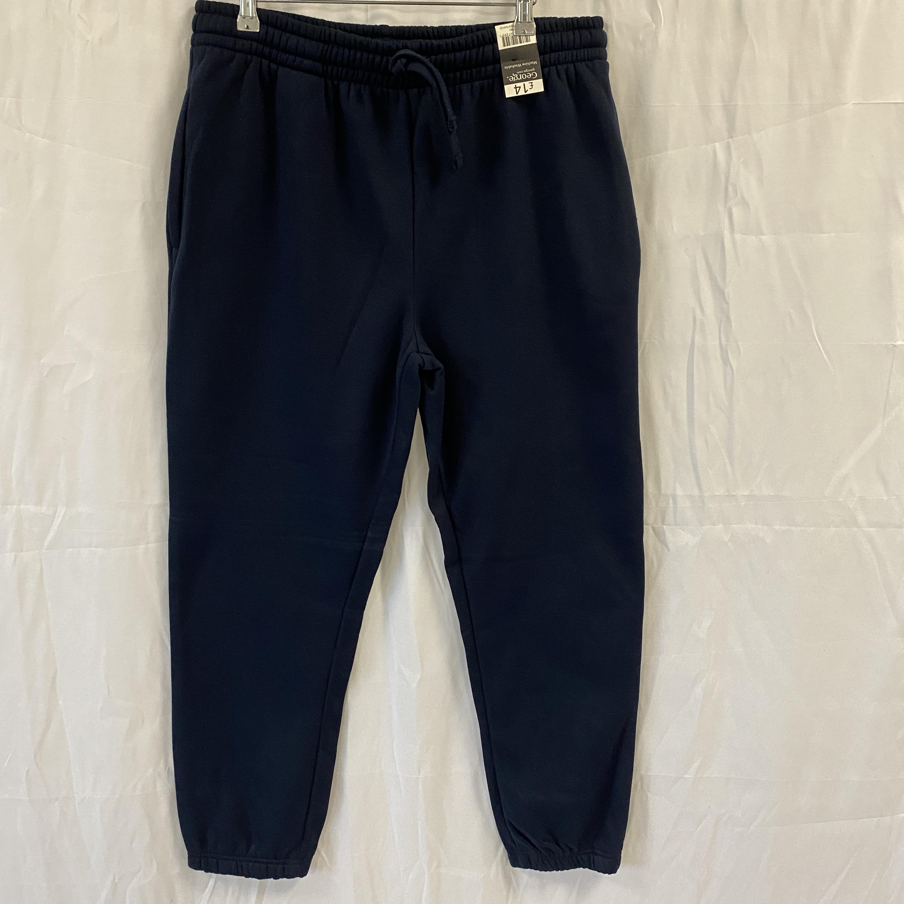 Brand New Navy Jogging Bottoms - Size L
