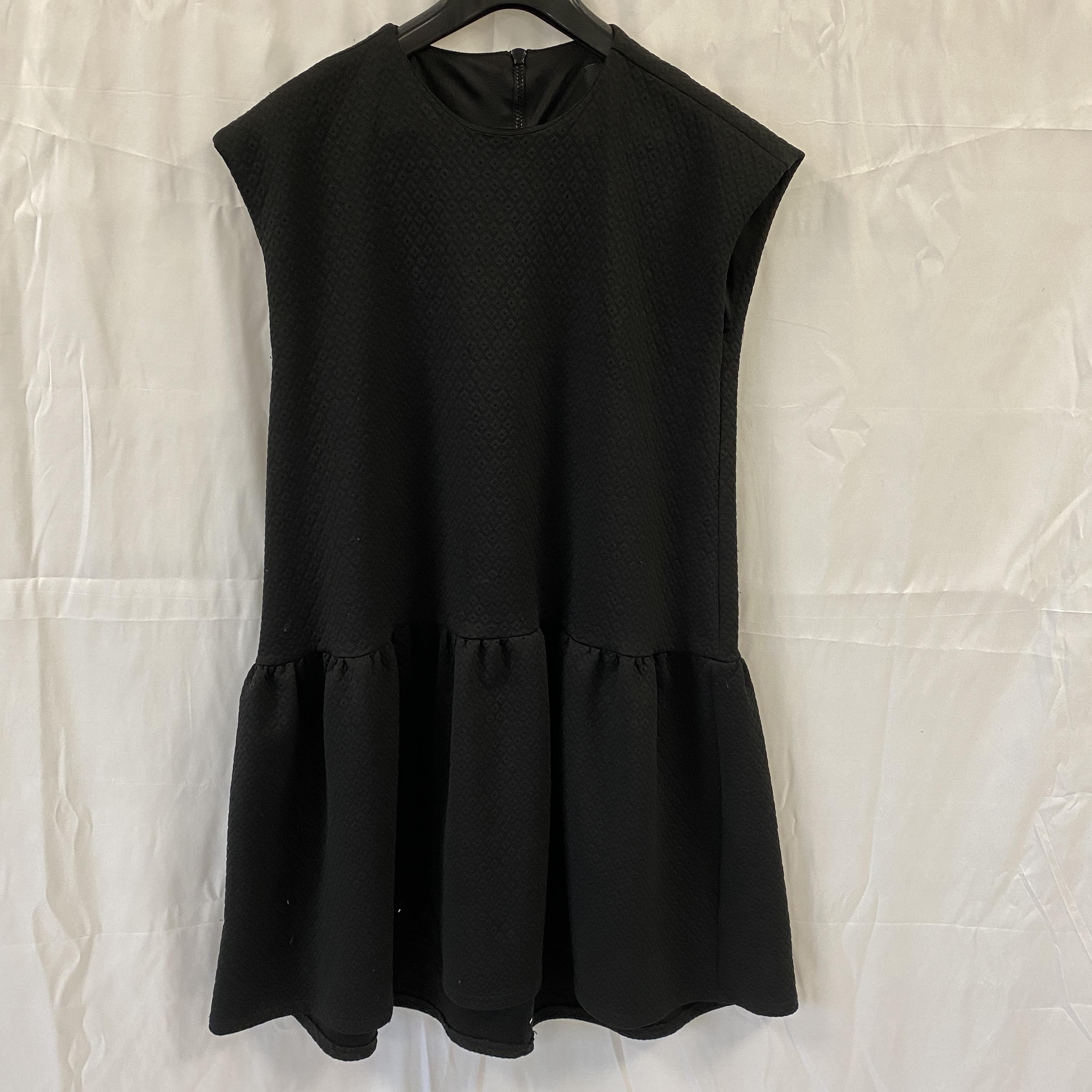 Asos Sleeveless Black Dress - Size 10