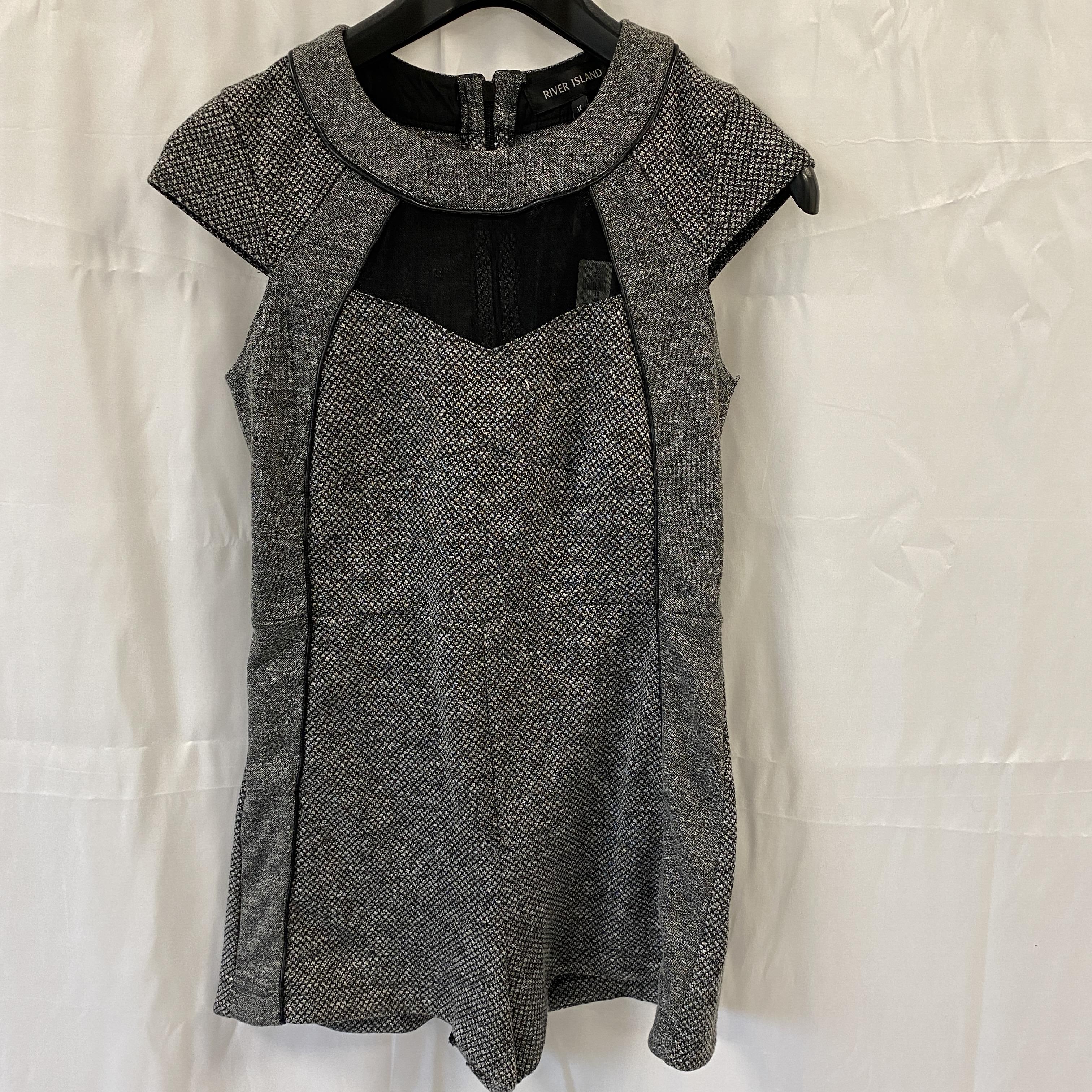 Brand New River Island Grey Tunic Dress