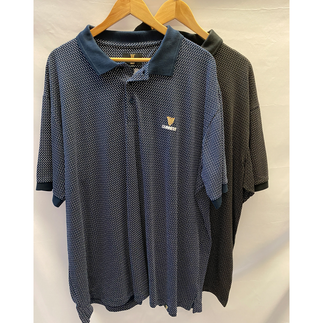 Guinness Polo Shirts Size 3XL