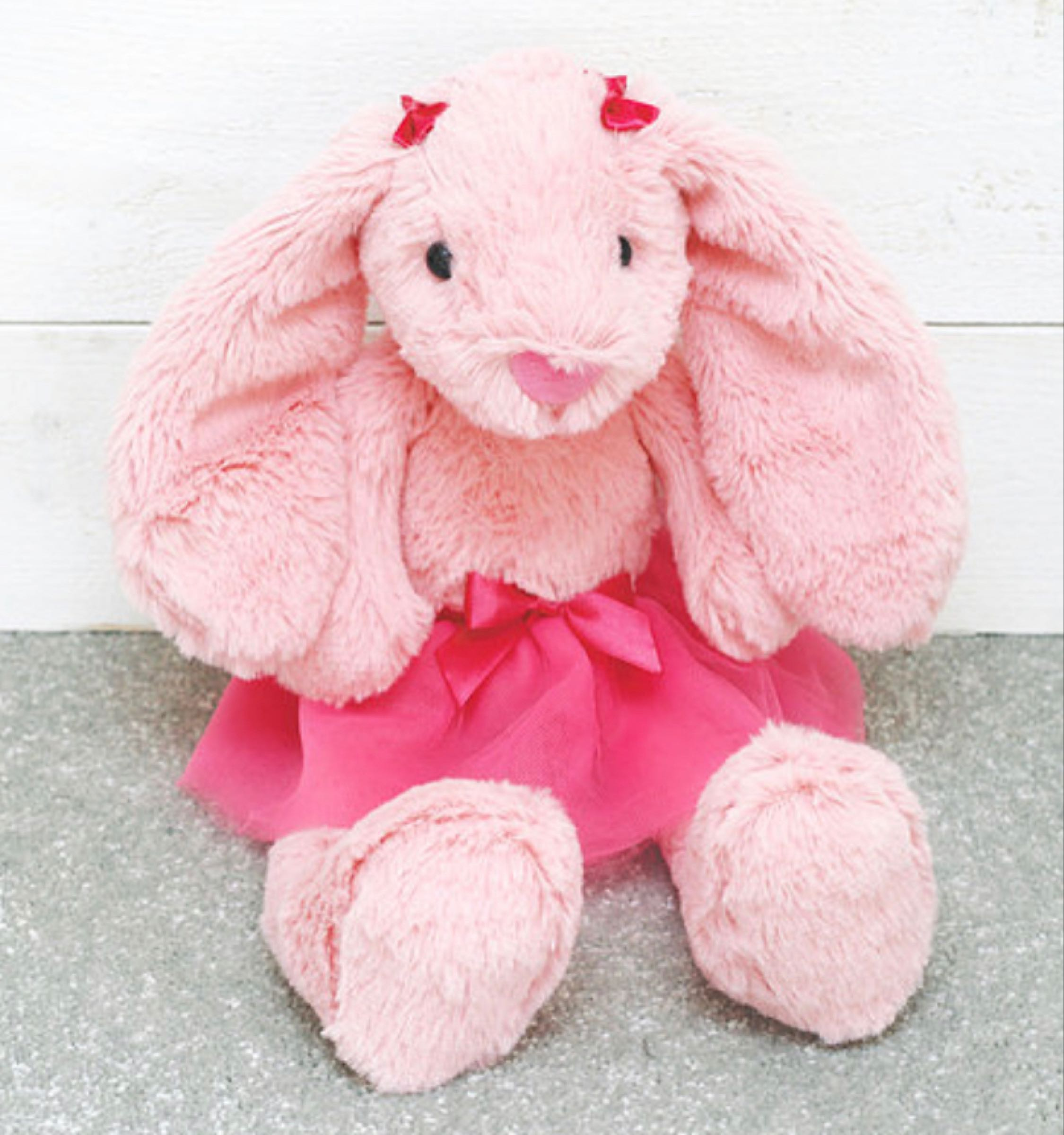 Jomanda Pink Tutu Ballerina Bunny 36cm