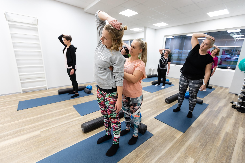 Virtuaali: Pilates, avoin taso ti 4.8. klo 19.15