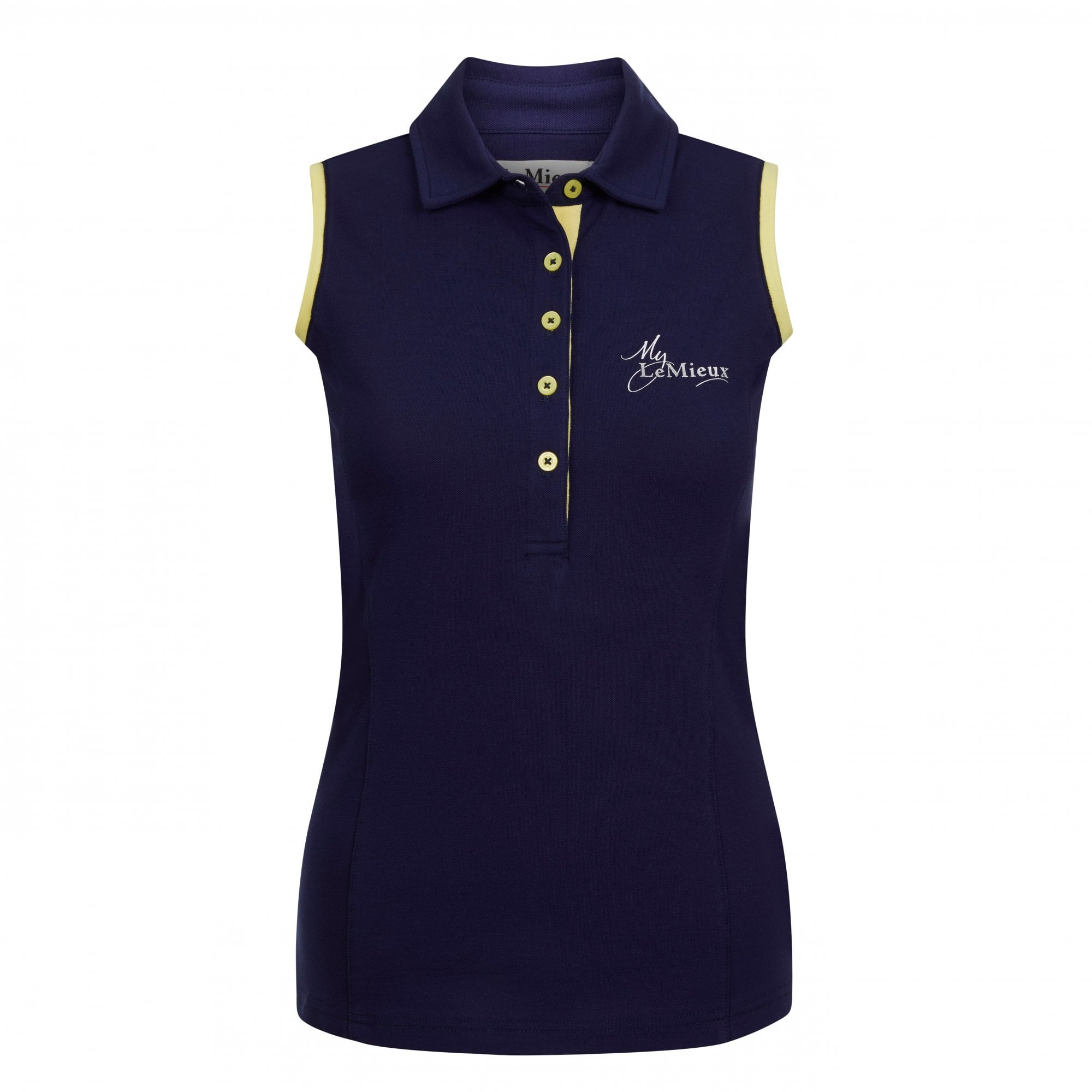 LEMIEUX SLEEVELESS POLO SHIRT